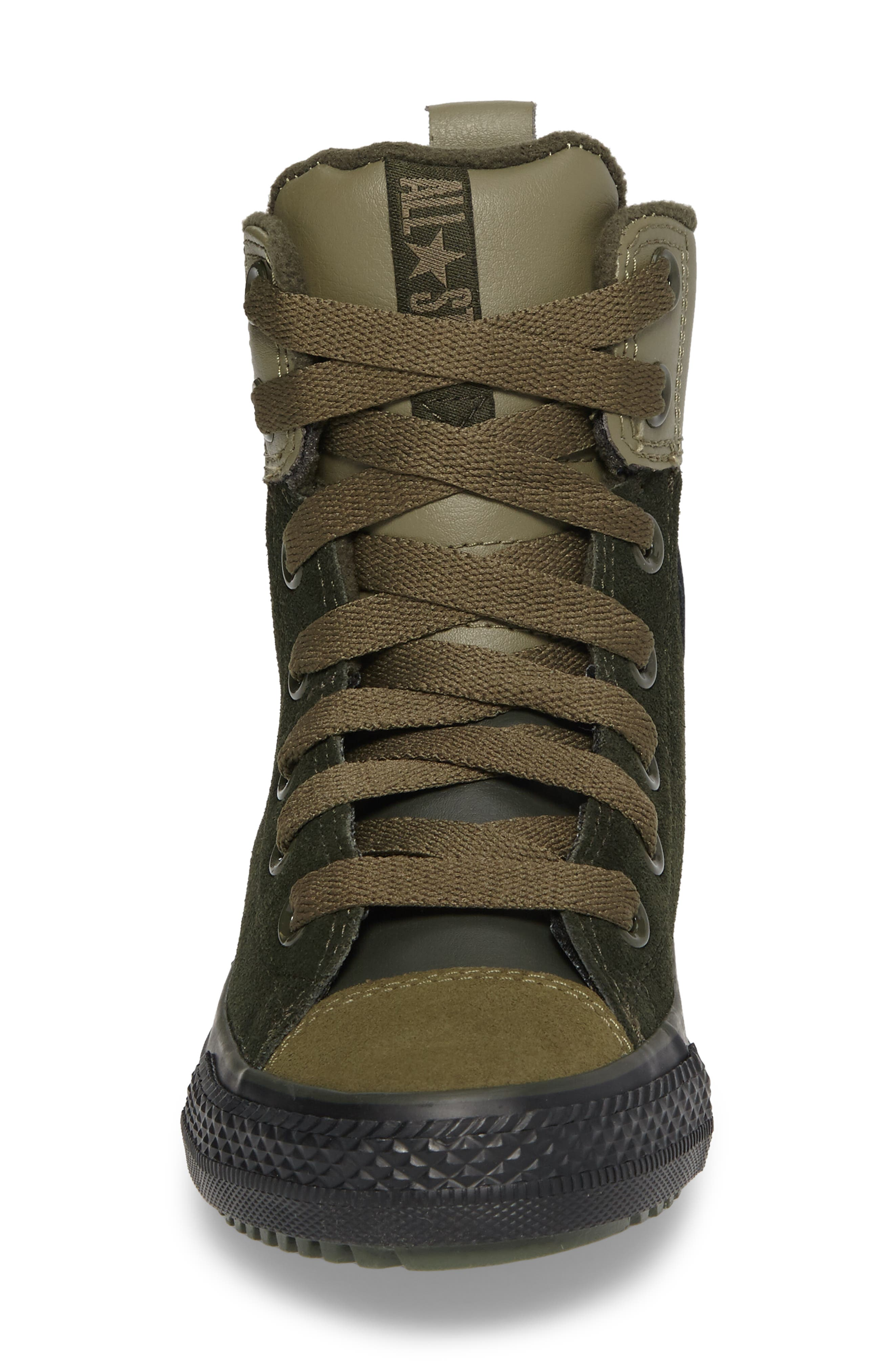 Chuck Taylor<sup>®</sup> All Star<sup>®</sup> Asphalt Sneaker Boot,                             Alternate thumbnail 4, color,                             Sequoia