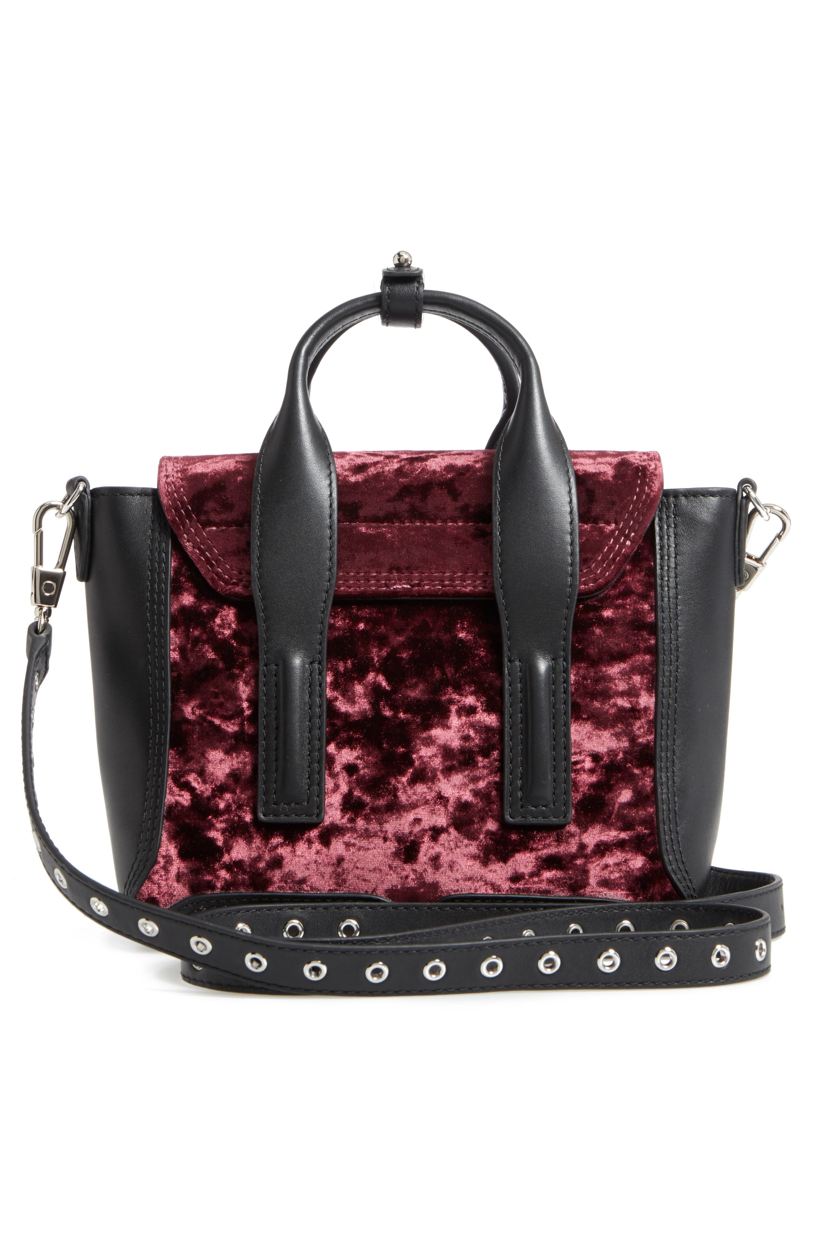 Alternate Image 3  - 3.1 Phillip Lim Mini Pashli Velvet & Leather Satchel