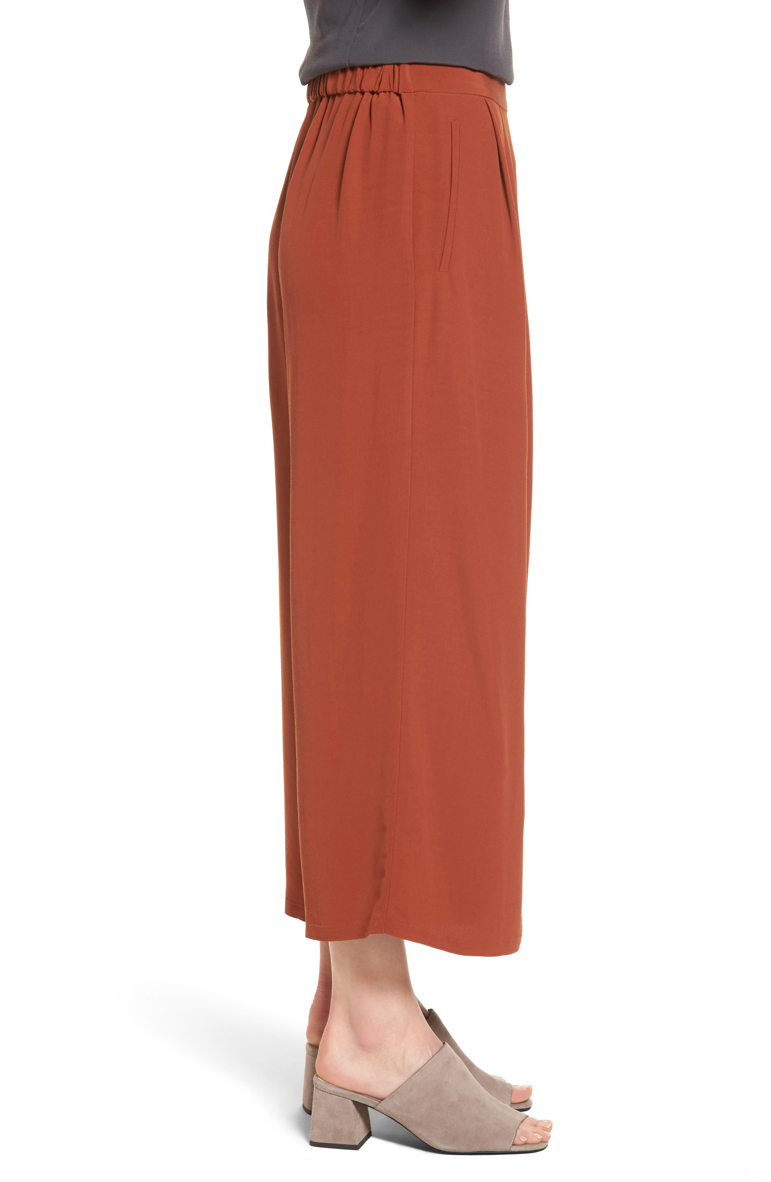 Alternate Image 3  - Eileen Fisher Wide Leg Pants (Regular & Petite)