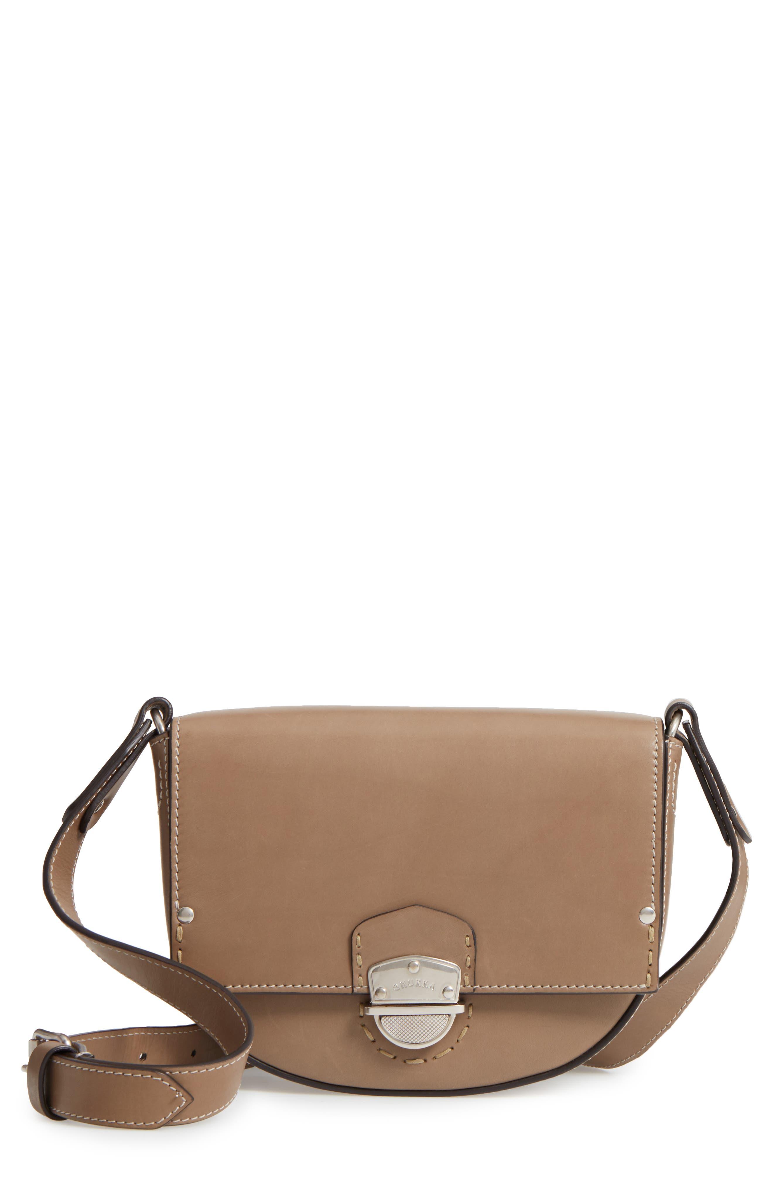 Ghurka Marlow Leather Shoulder Bag