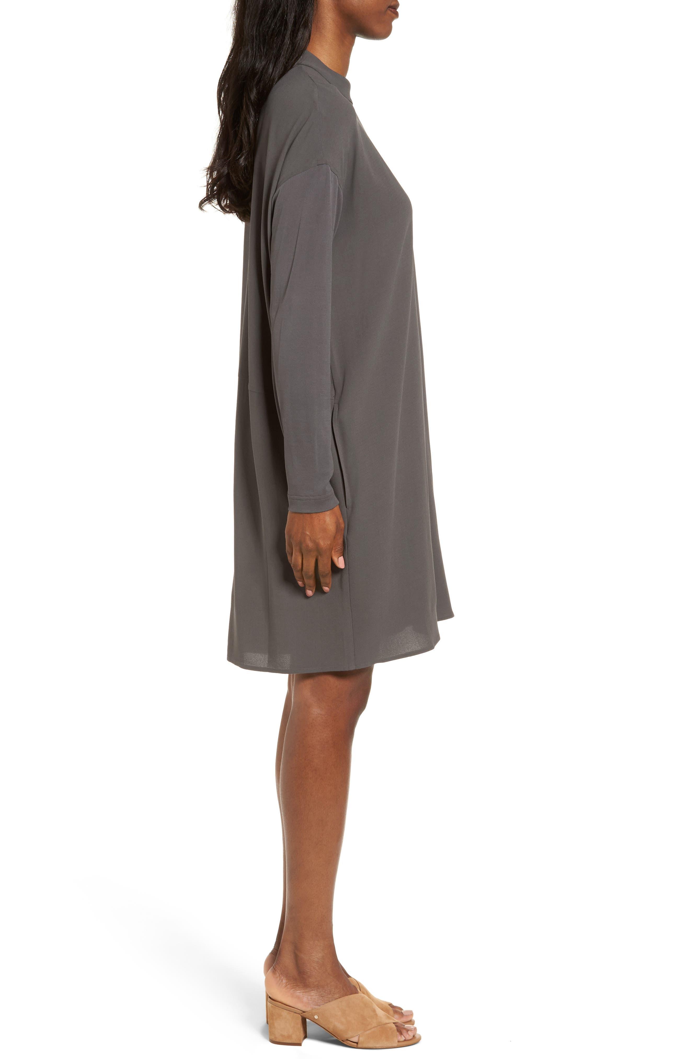 Alternate Image 3  - Eileen Fisher Silk Shift Dress