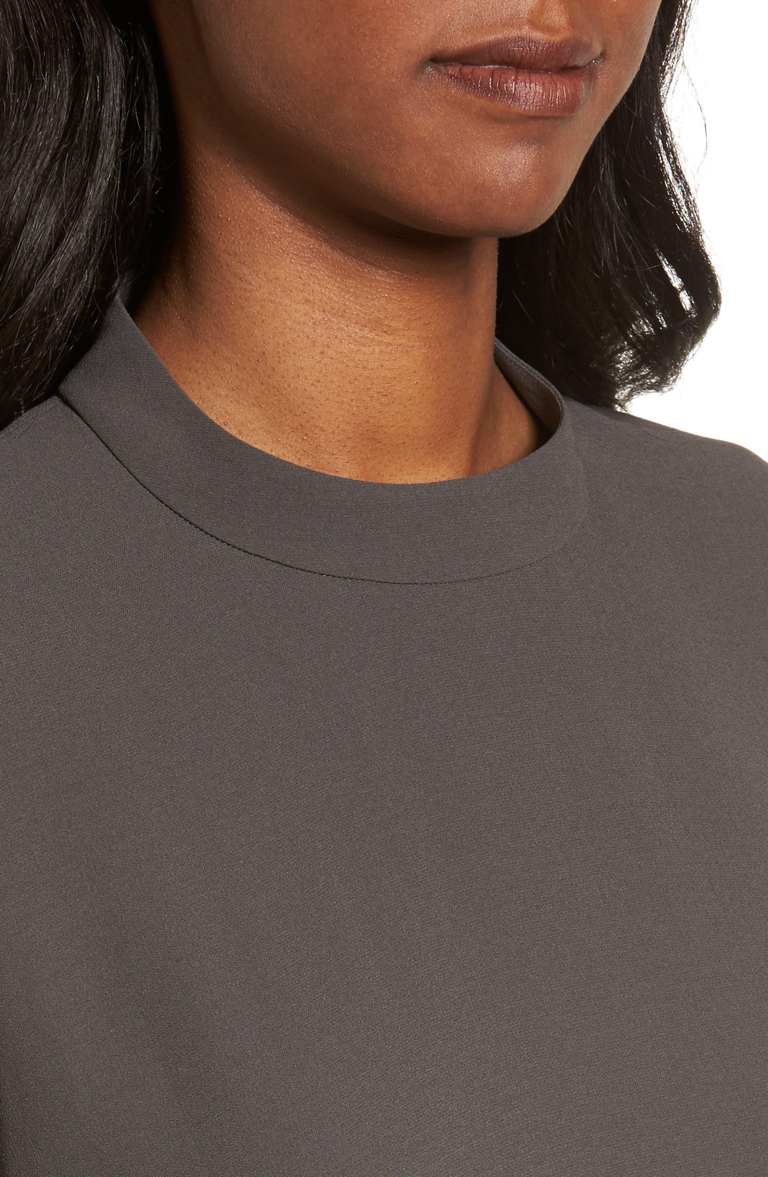 Alternate Image 4  - Eileen Fisher Silk Shift Dress