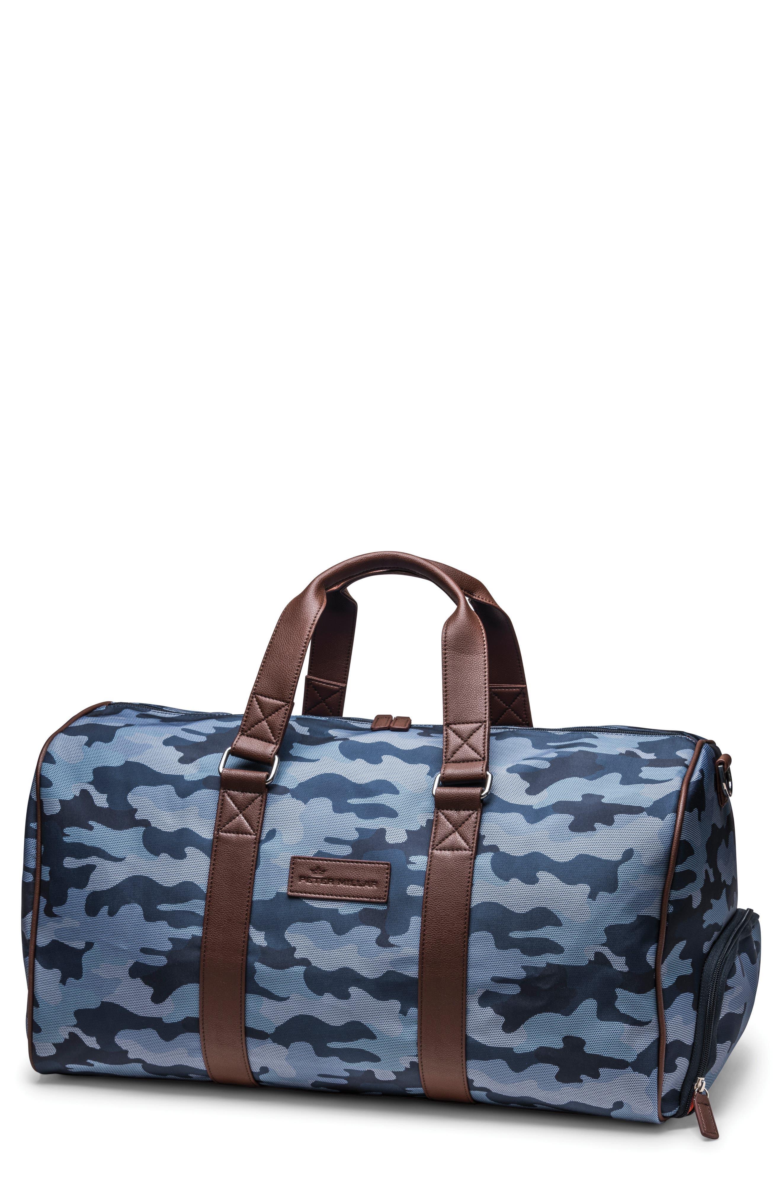 Peter Millar Camo Duffel Bag