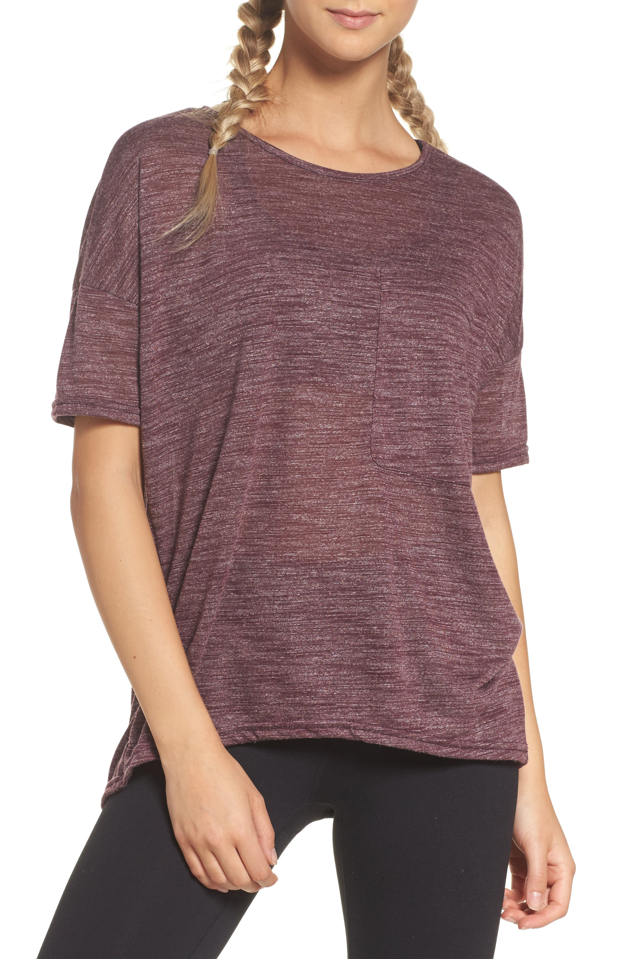 Zella Big Pocket Tee