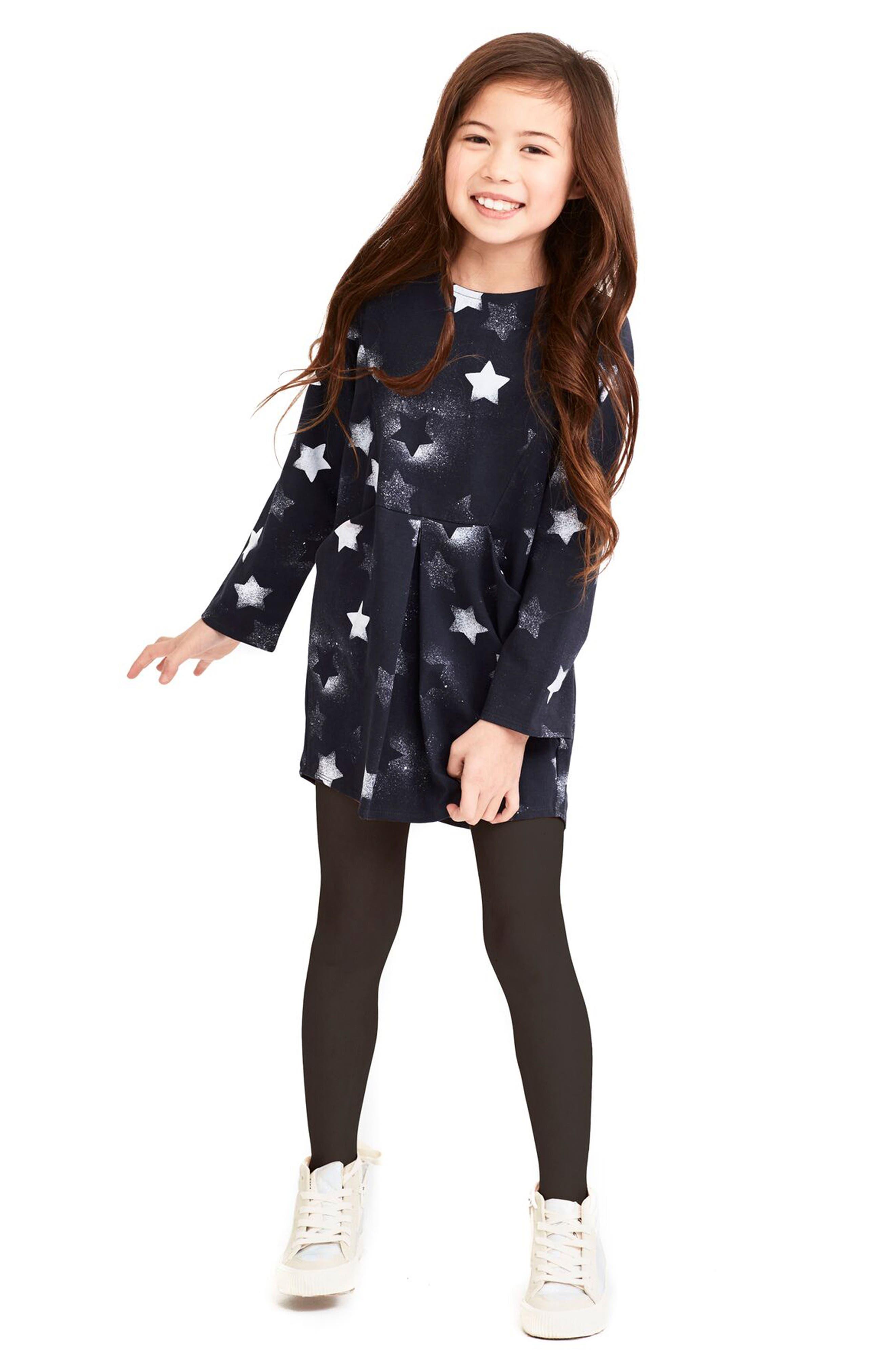 Alternate Image 2  - Art & Eden Kennedy Star Print Dress (Toddler Girls & Little Girls)