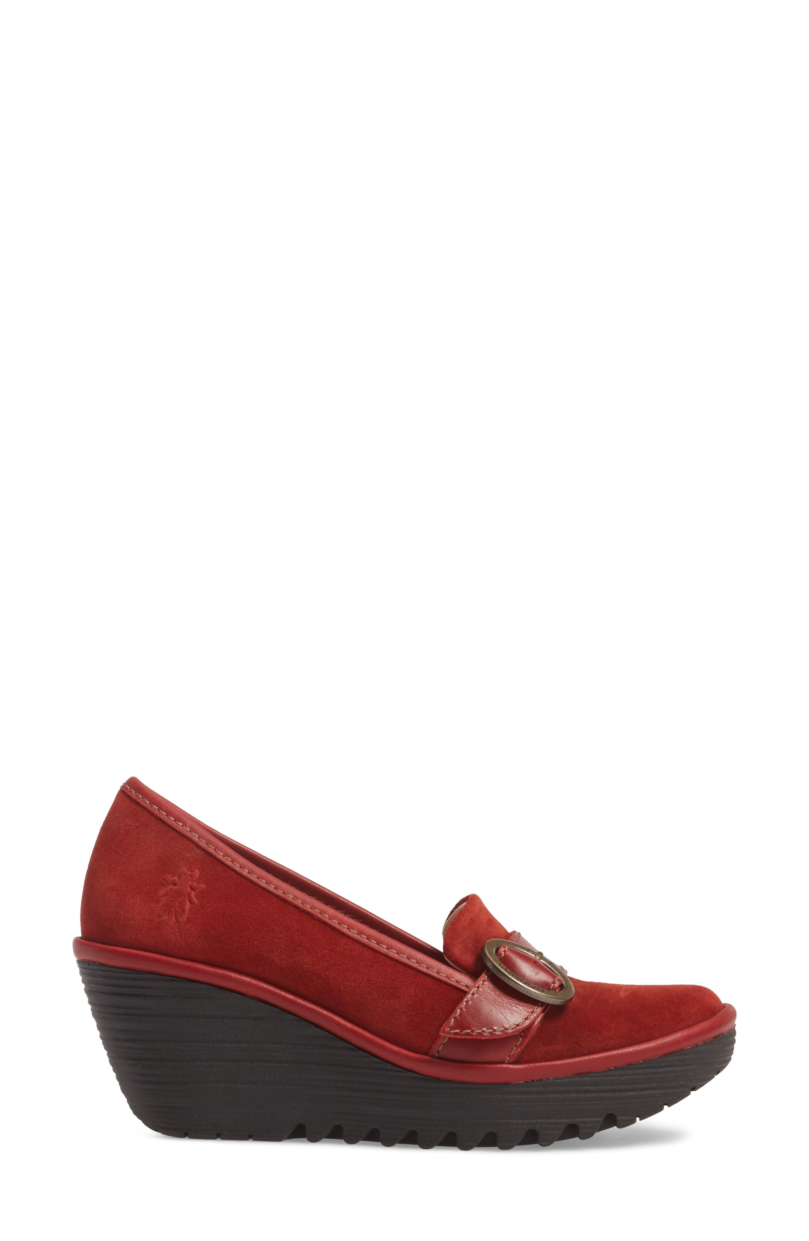Alternate Image 3  - Fly London Yond Wedge (Women)
