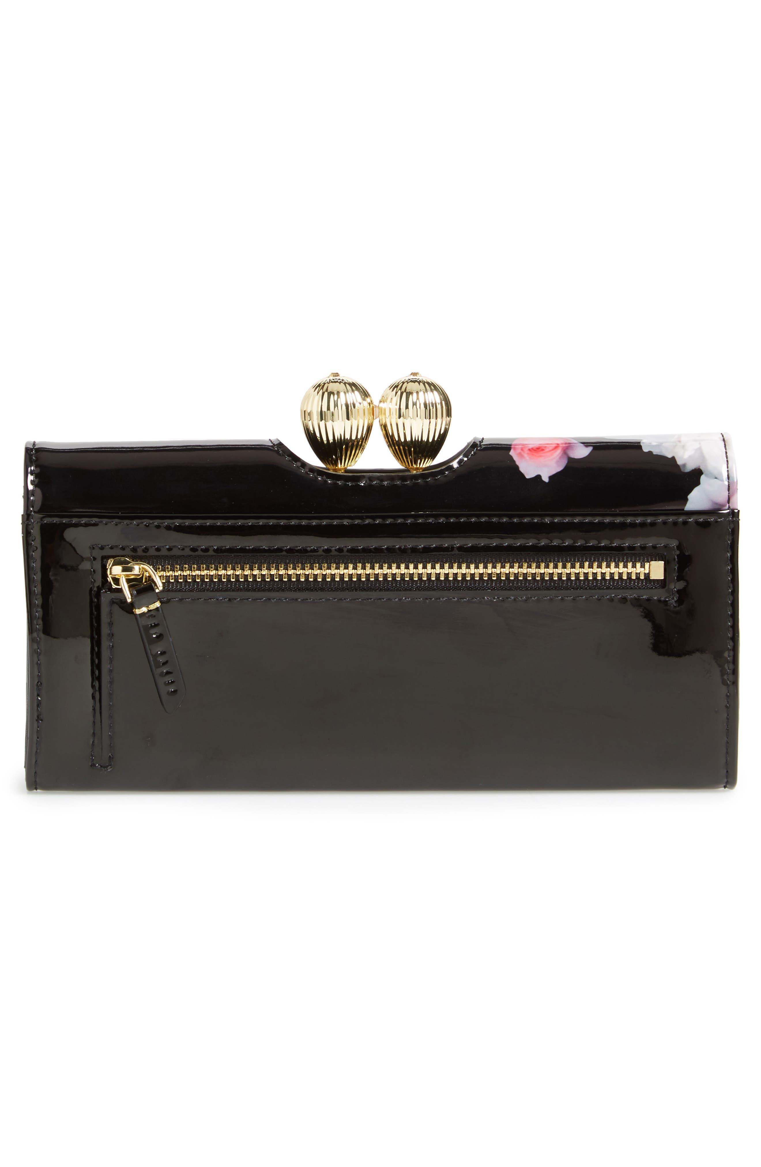 Alternate Image 4  - Ted Baker London Sundayy Chelsea Leather Matinée Wallet