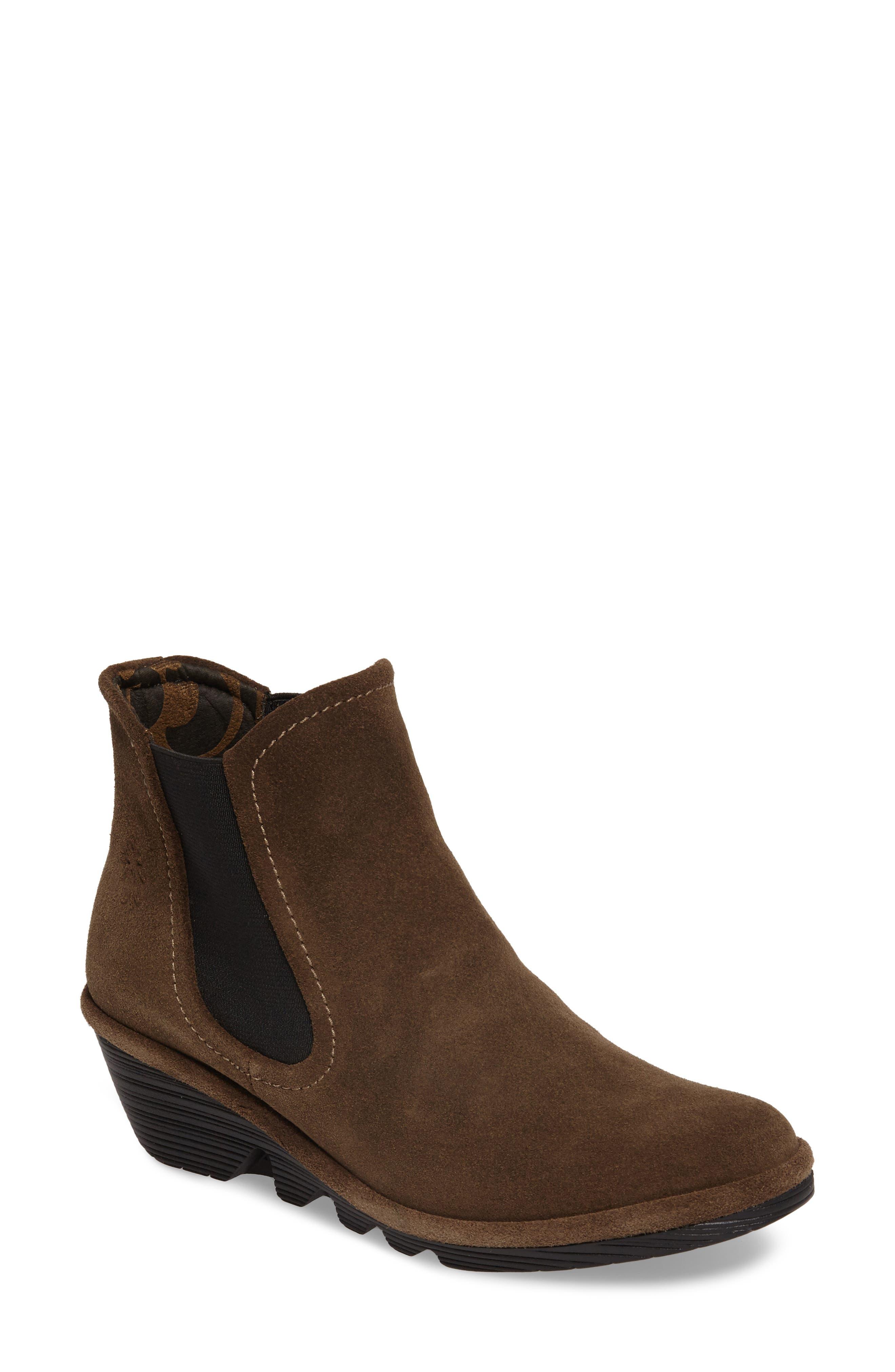 'Phil' Chelsea Boot,                         Main,                         color, Sludge Suede