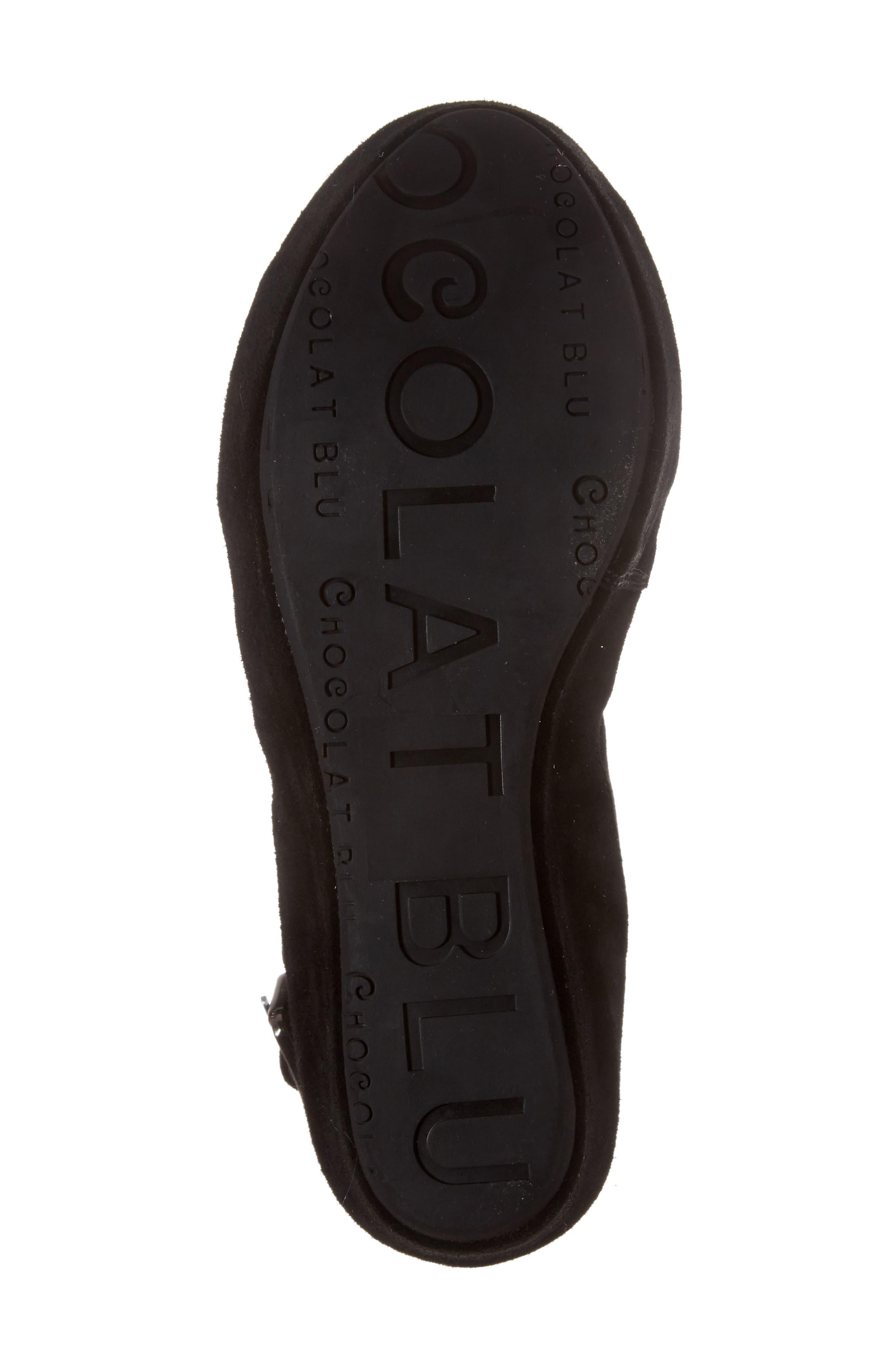 Alternate Image 6  - Chocolat Blu Windsor Platform Wedge Sandal (Women)