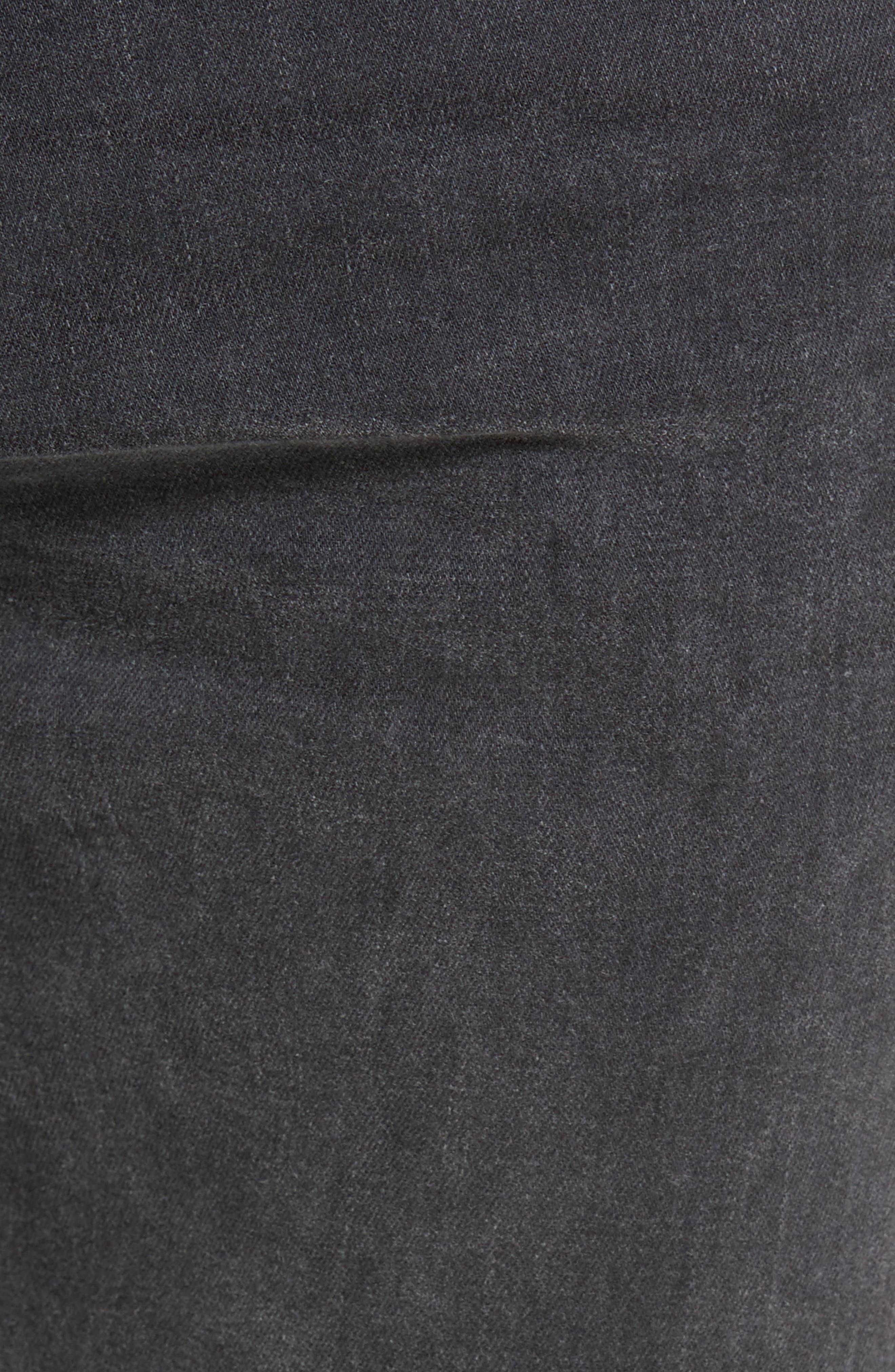 Alternate Image 5  - AG Stockton Skinny Fit Jeans (10 Years Black Dunes)