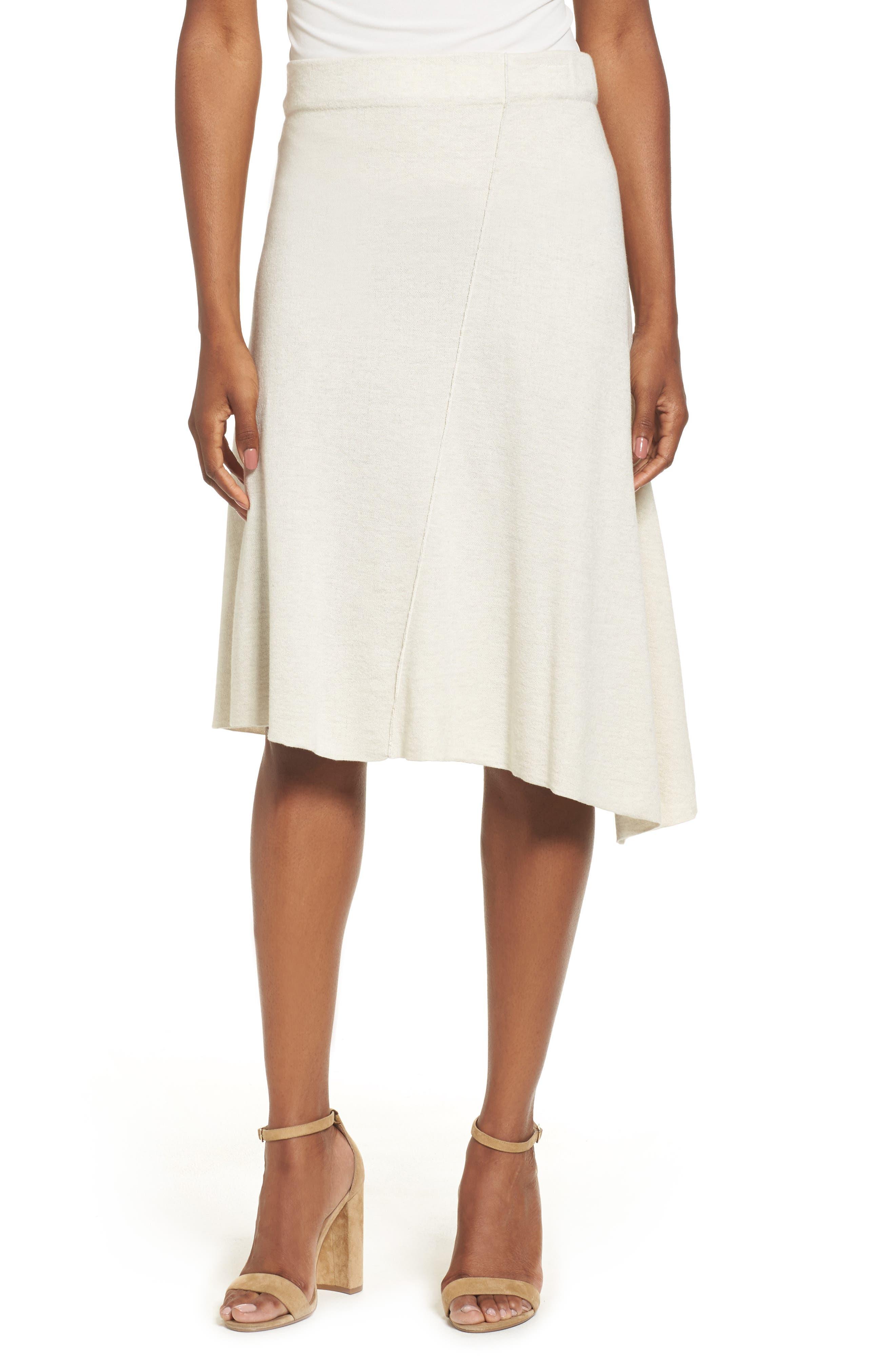 Mod Twirl Skirt,                         Main,                         color, Chalk