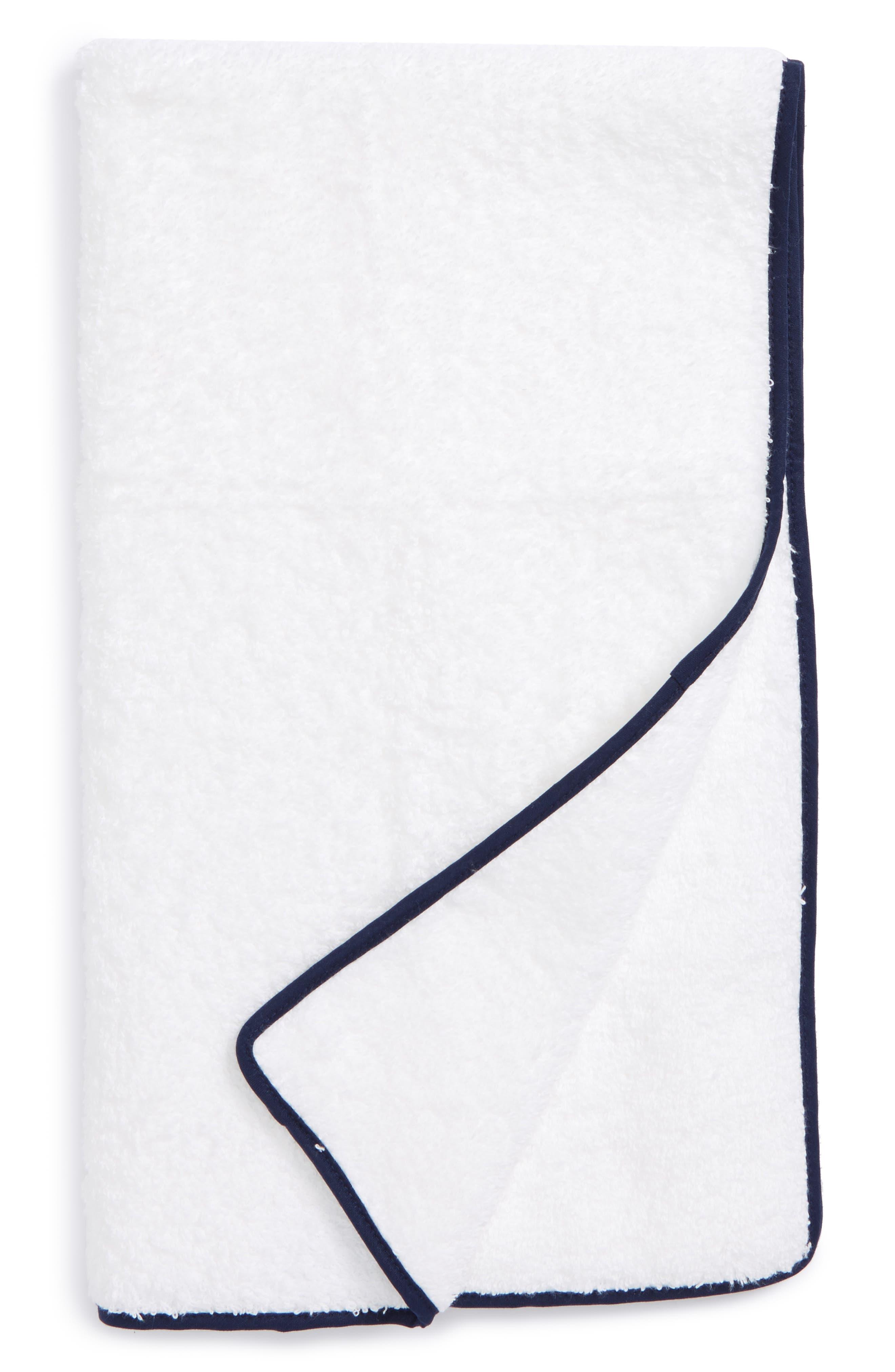 Cairo Hand Towel,                         Main,                         color, Navy