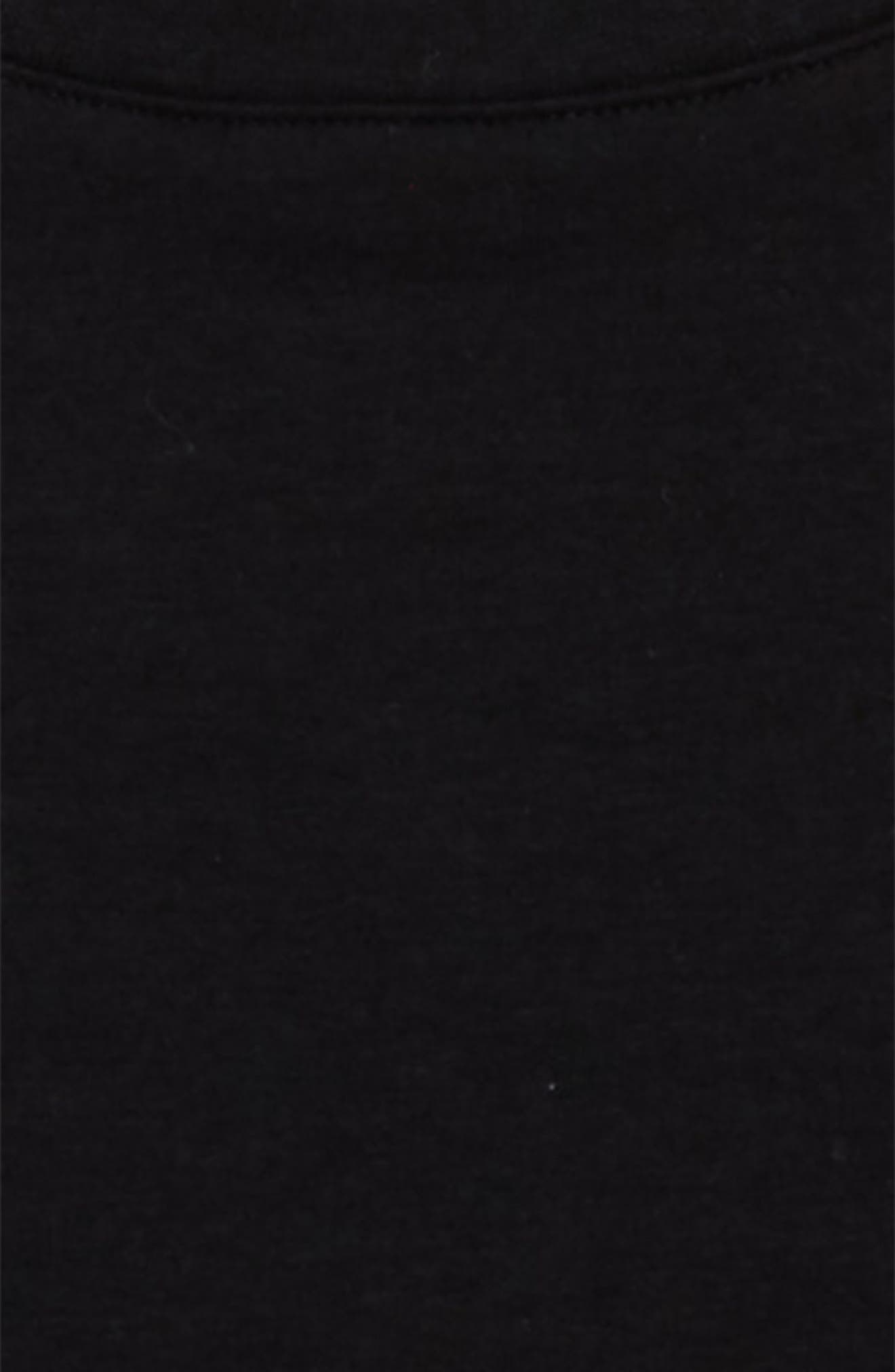 Long Sleeve T-Shirt,                             Alternate thumbnail 2, color,                             Black