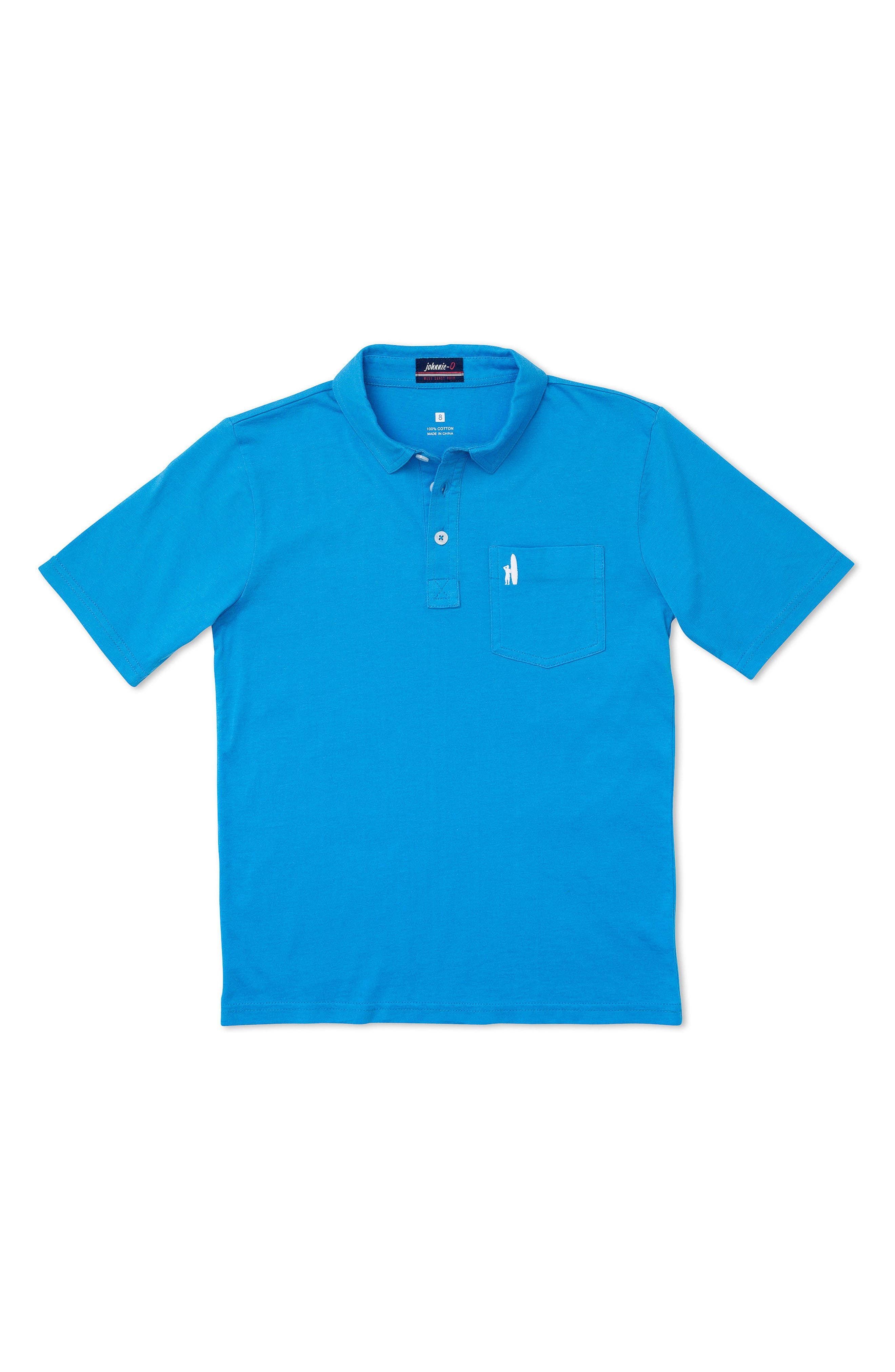 johnnie-O Original Solid Pocket Polo (Little Boys & Big Boys)