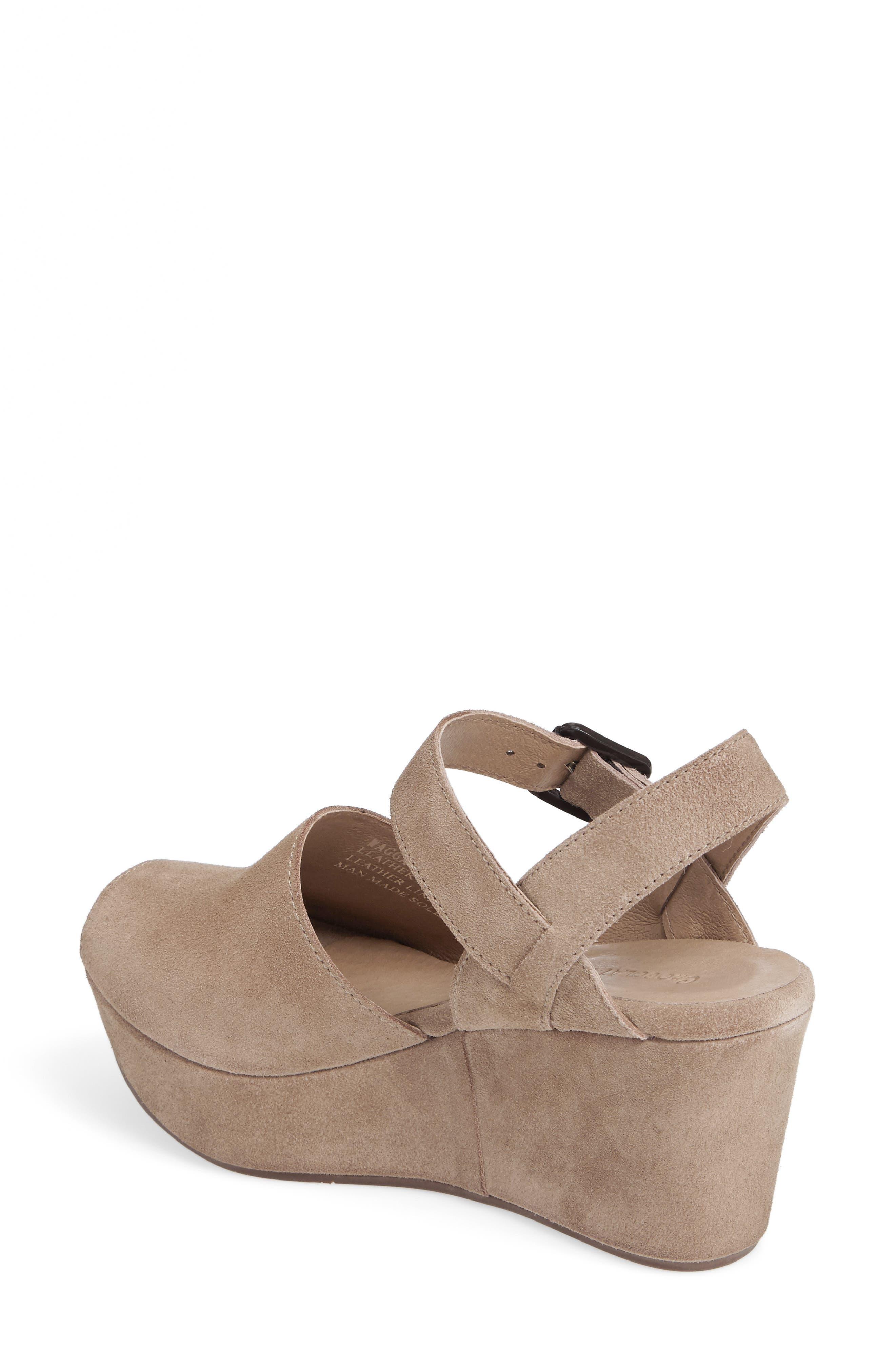 Alternate Image 2  - Chocolat Blu Wagga Platform Wedge Sandal (Women)