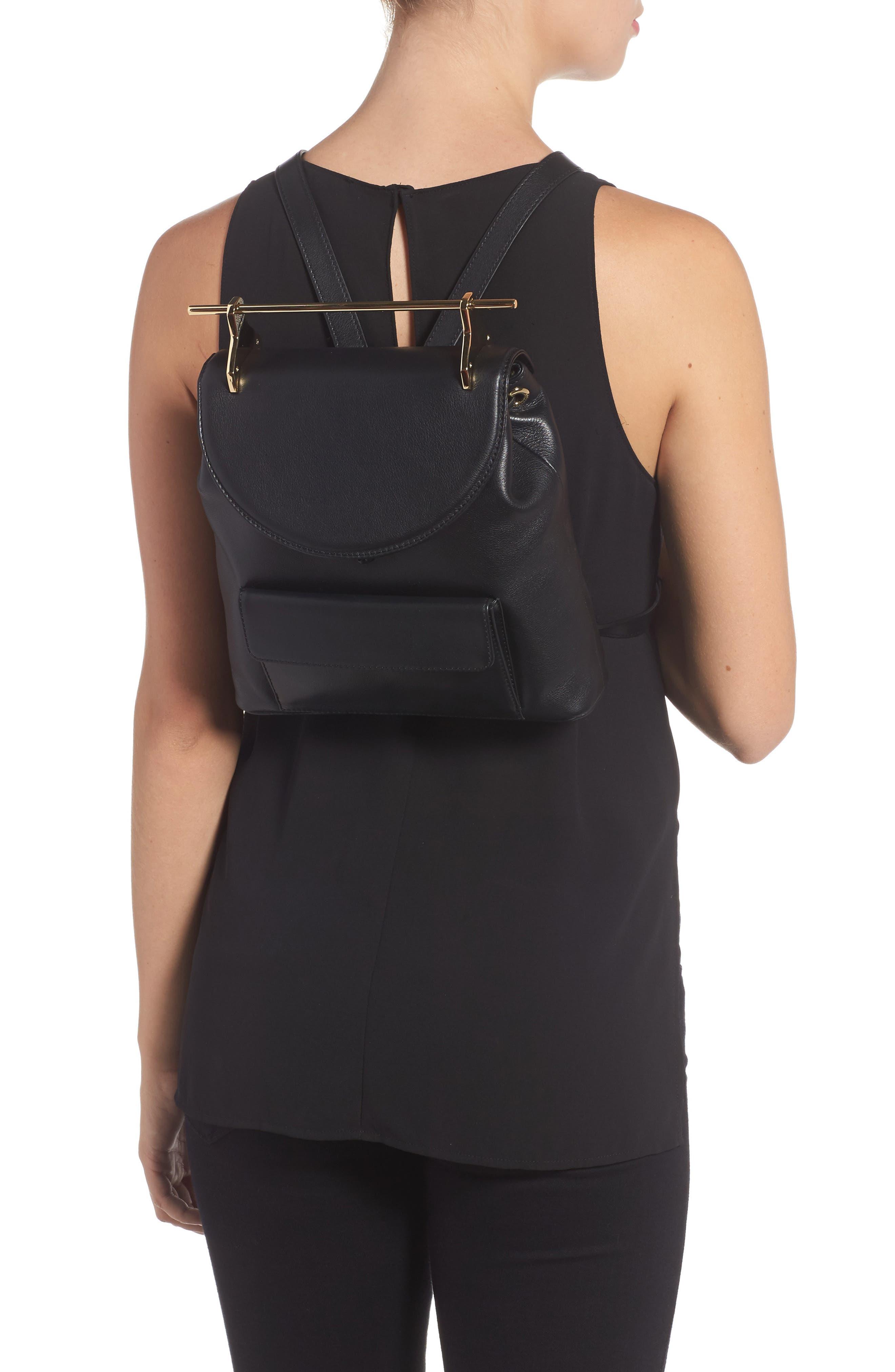 Alternate Image 2  - M2Malletier Calfskin Leather Backpack