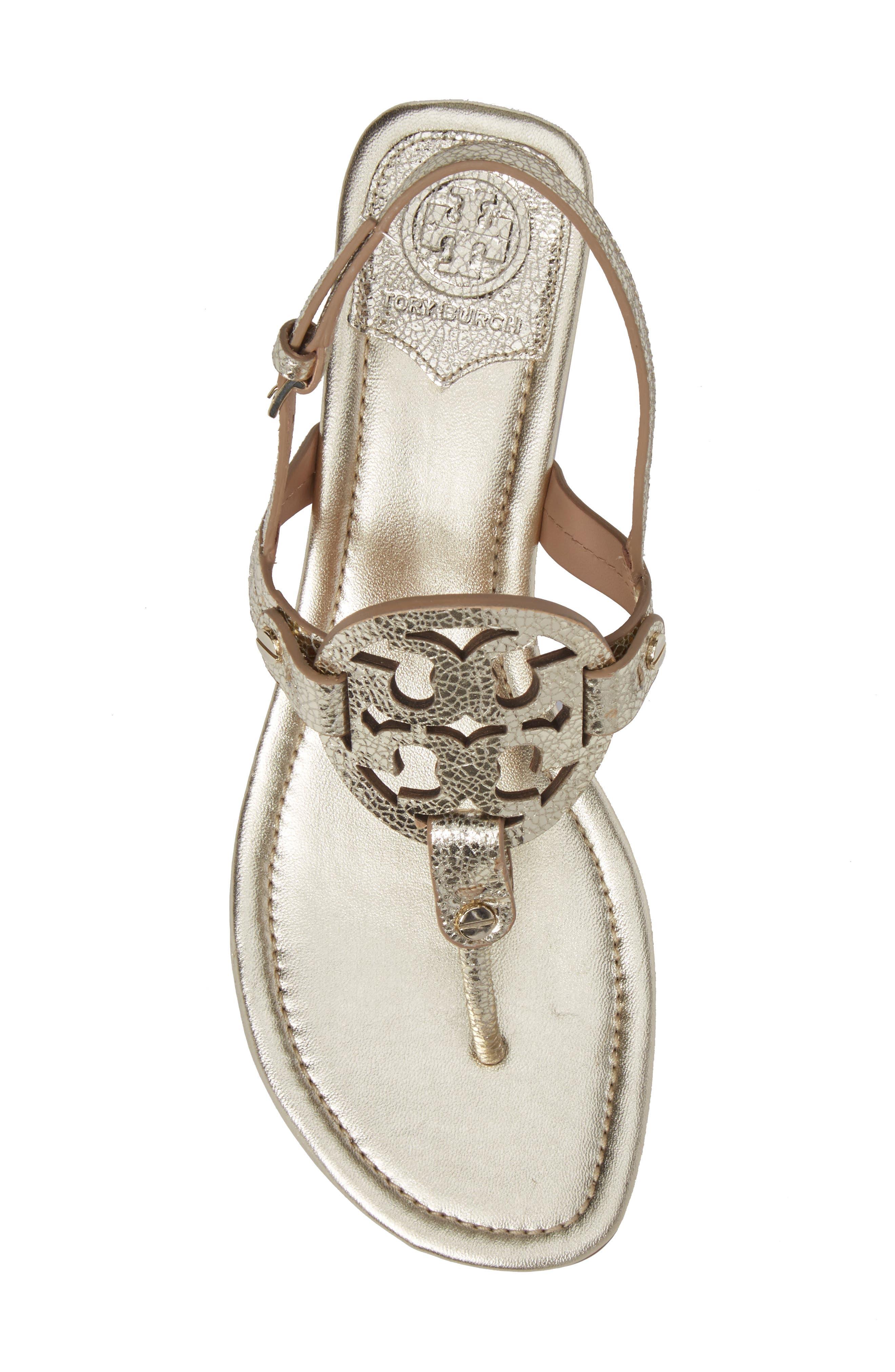 Alternate Image 5  - Tory Burch Miller Logo Sandal (Women)