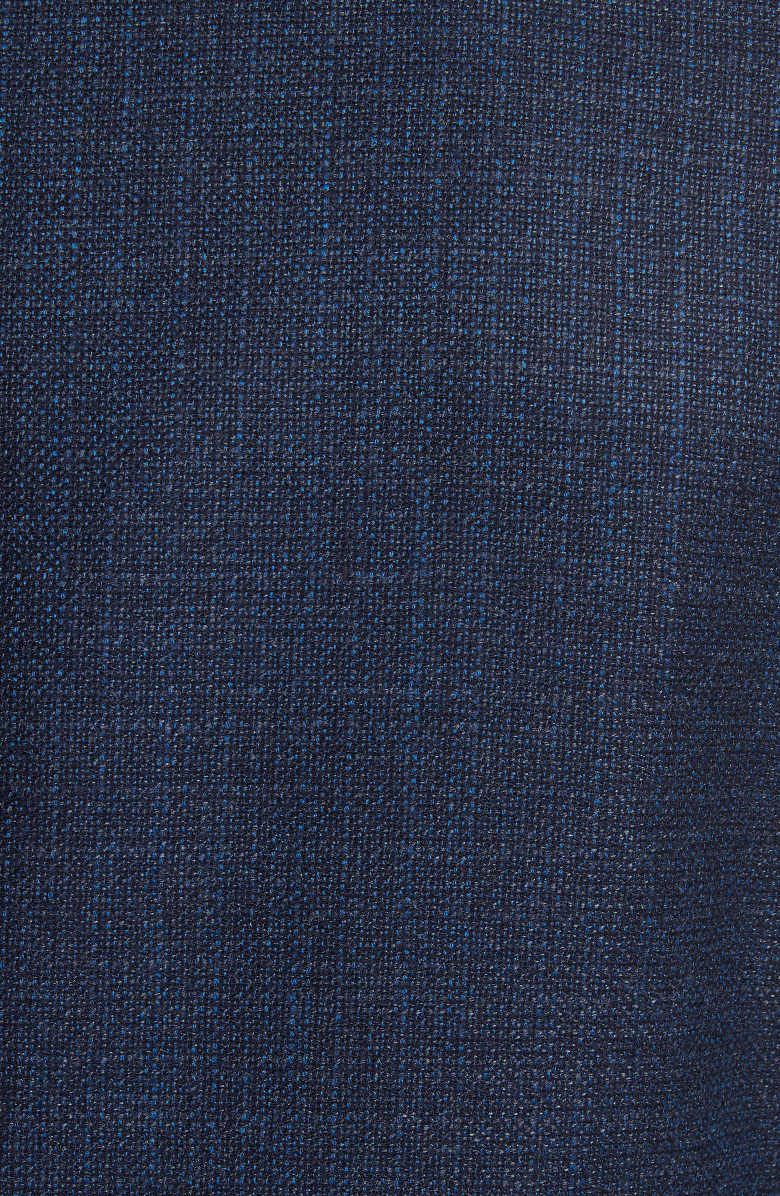 Kei Classic Fit Wool Blazer,                             Alternate thumbnail 5, color,                             Blue