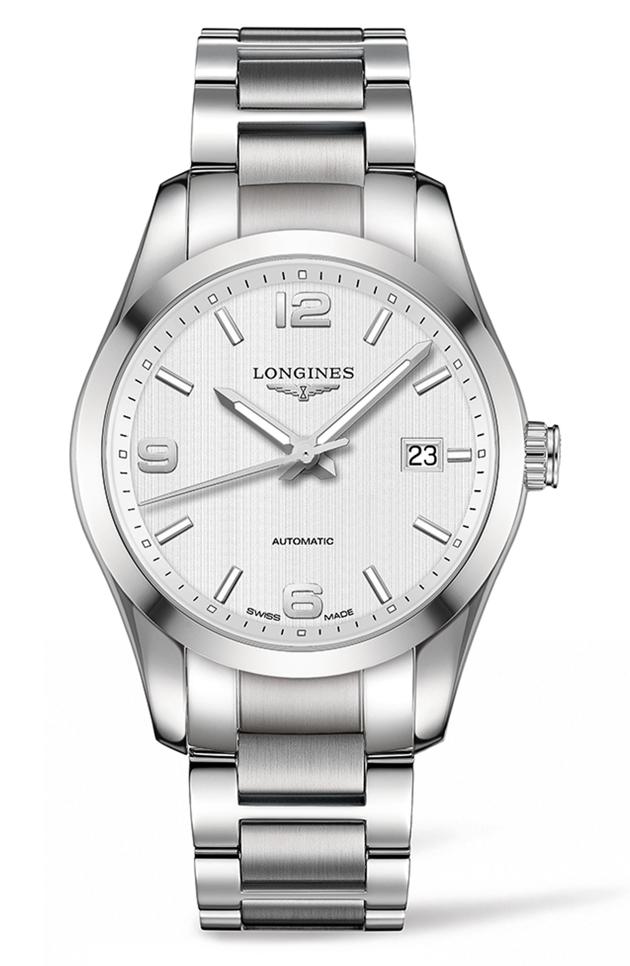Main Image - Longines Conquest Classic Automatic Bracelet Watch, 40mm