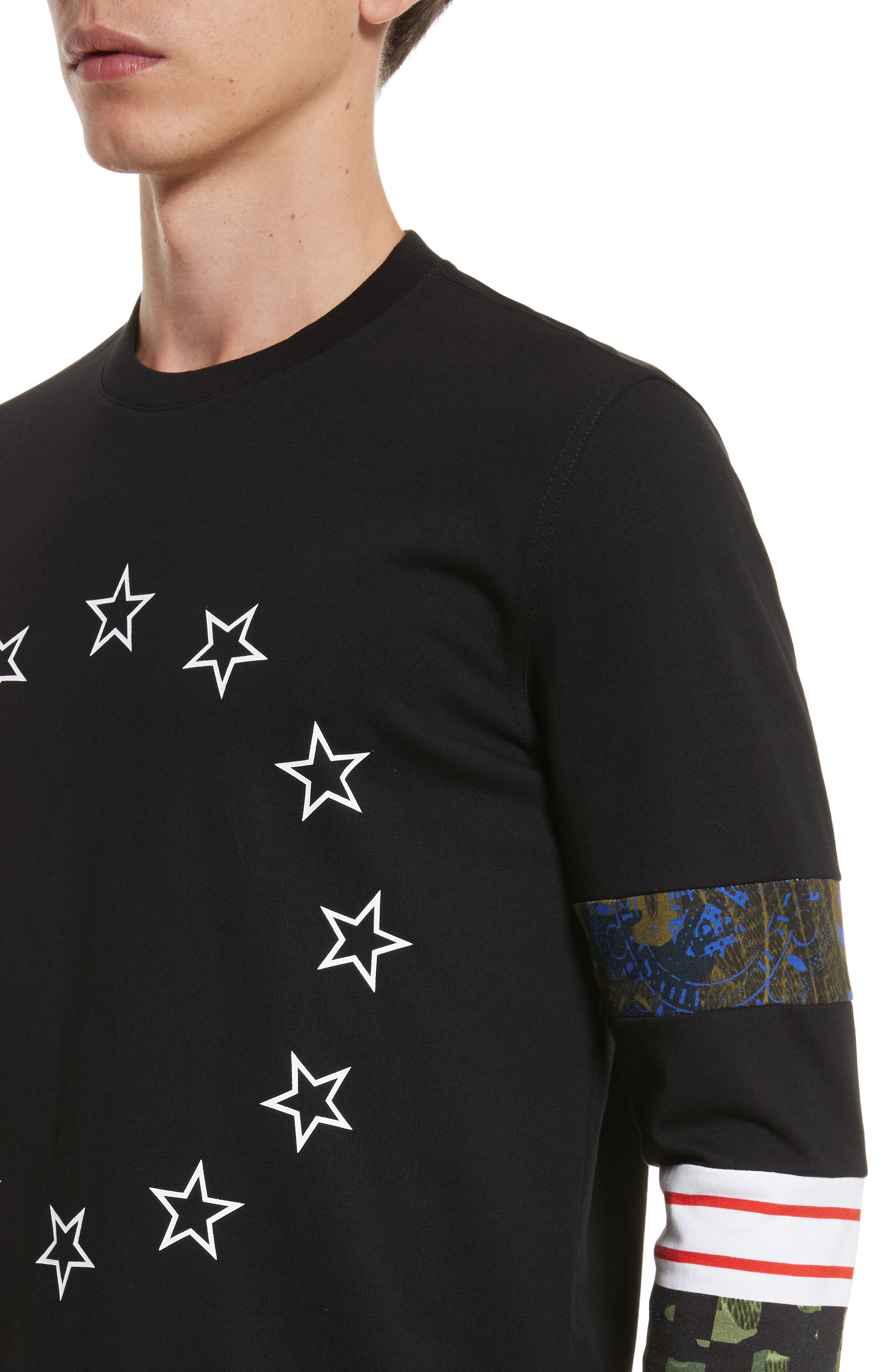 Alternate Image 4  - Givenchy Cuban Fit Circle Star Print T-Shirt