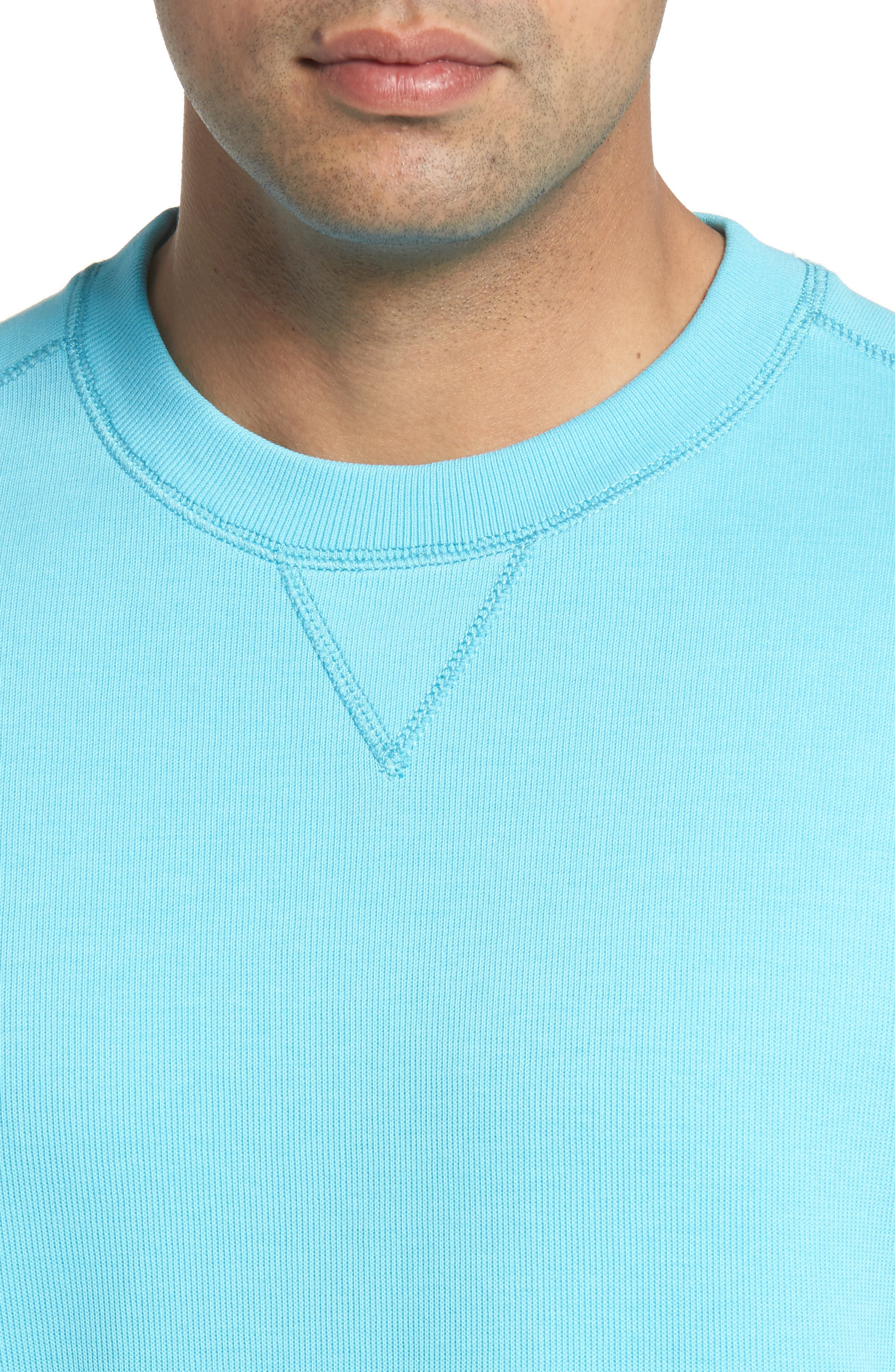 Alternate Image 4  - Cutter & Buck Bayview Crewneck Sweatshirt