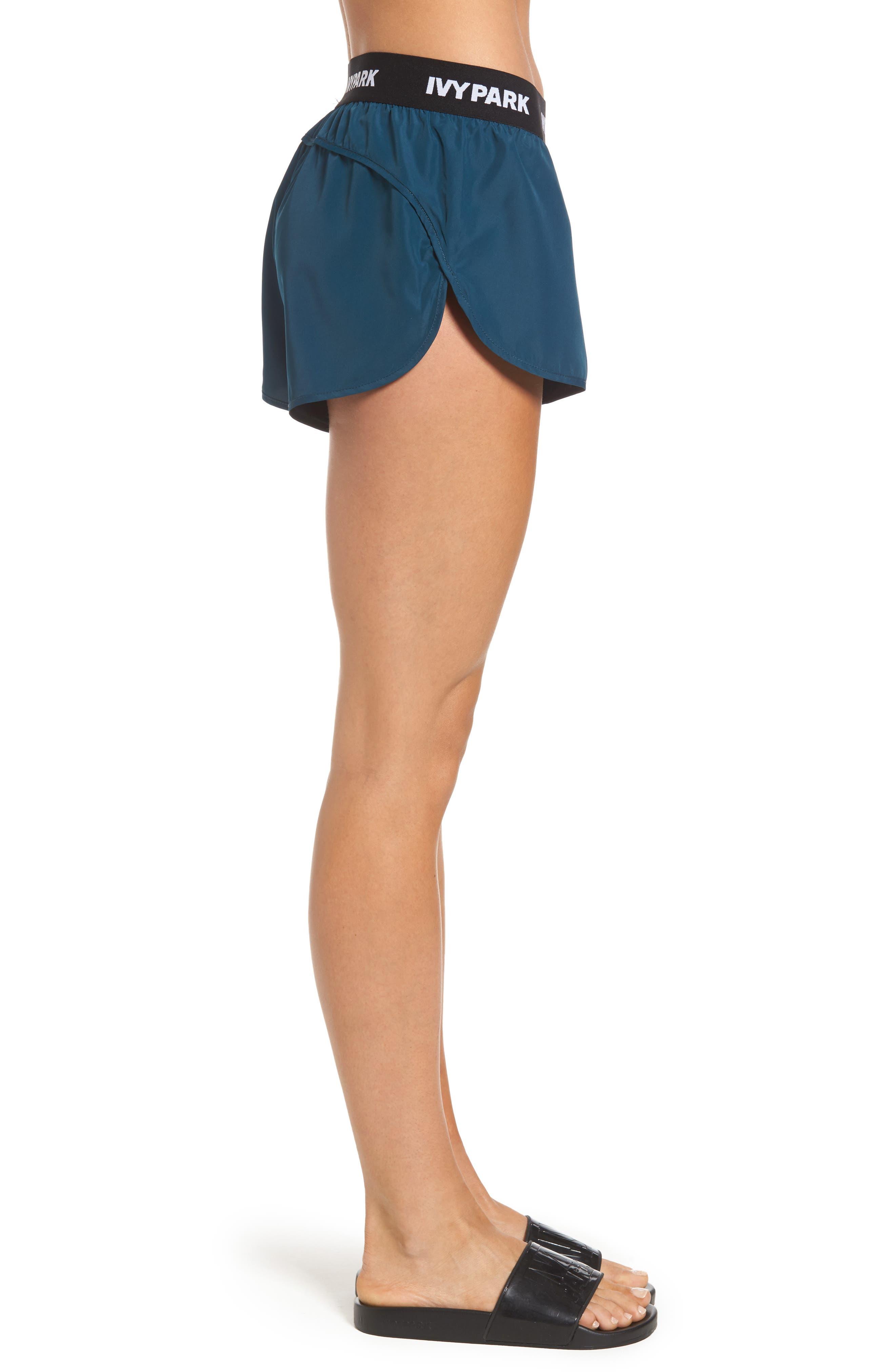Alternate Image 3  - IVY PARK® Logo Elastic Runner Shorts