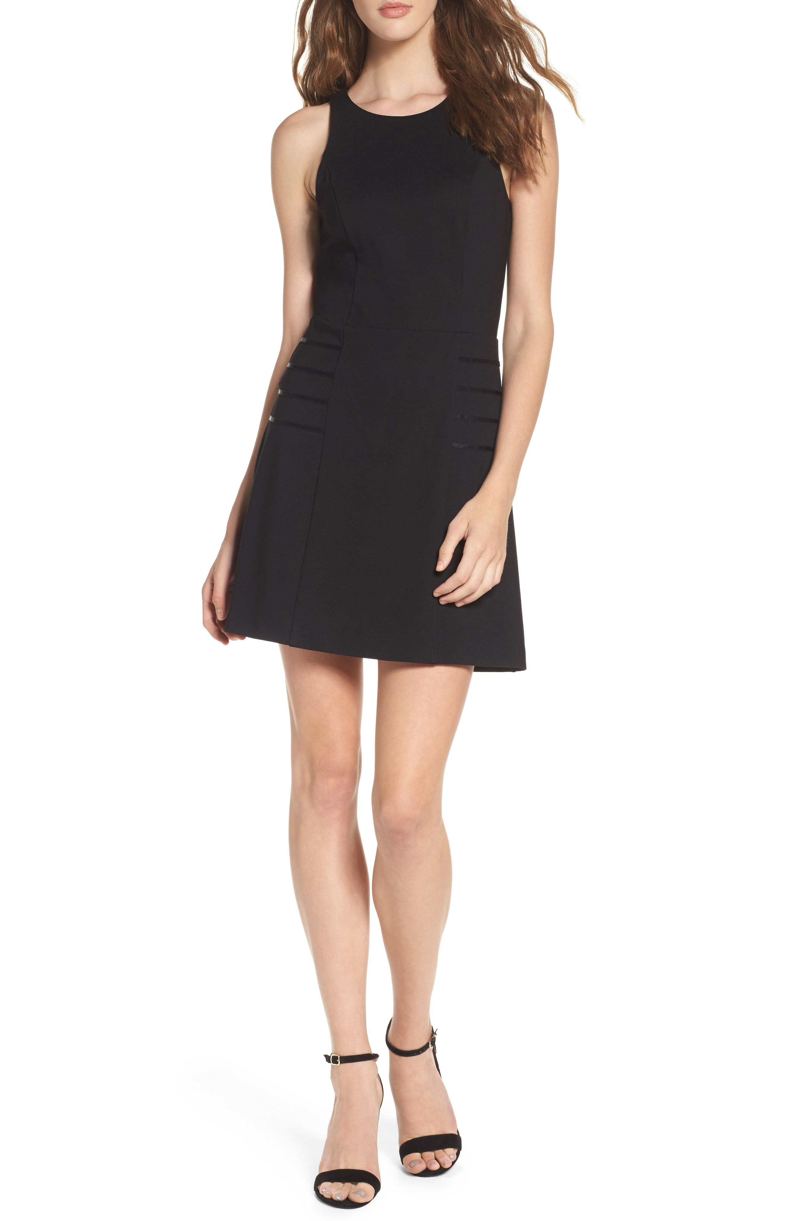 Imma Do Me Minidress,                         Main,                         color, Black