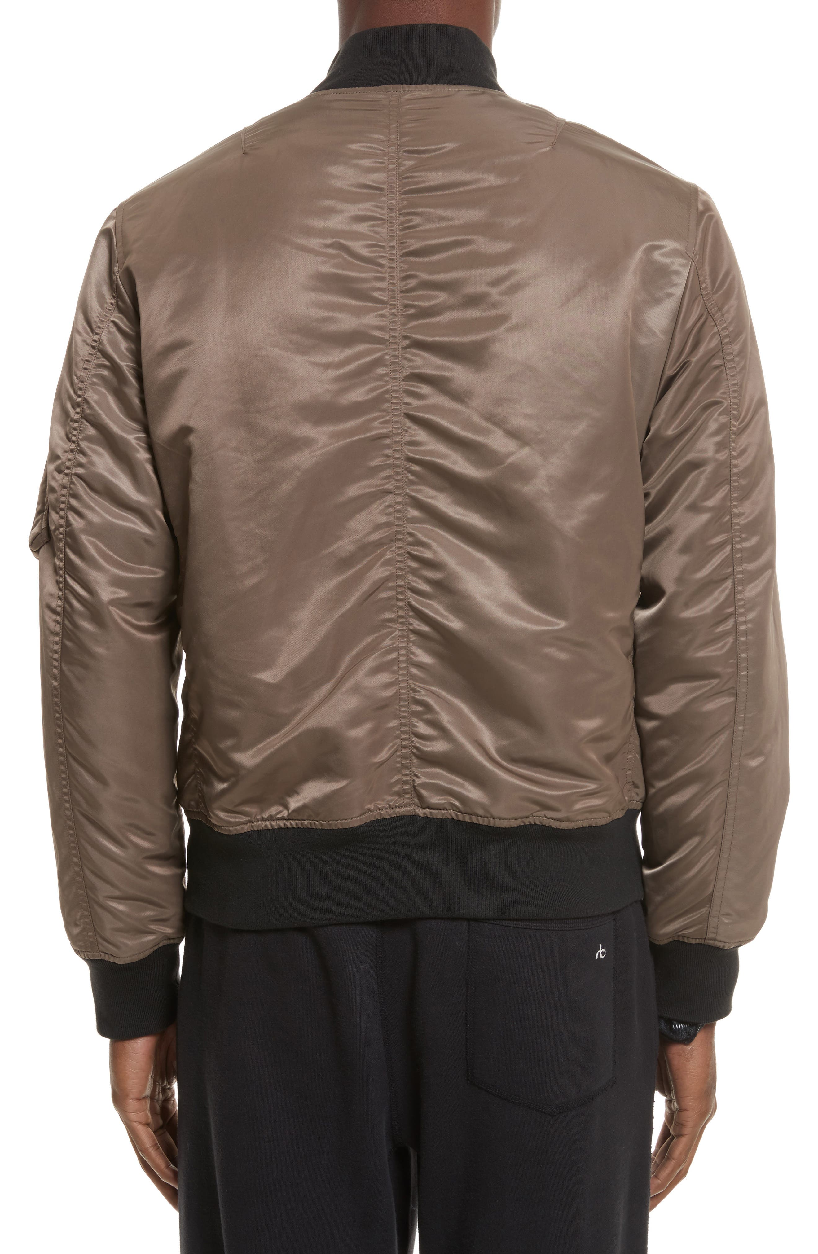 Alternate Image 2  - rag & bone Manston Bomber Jacket