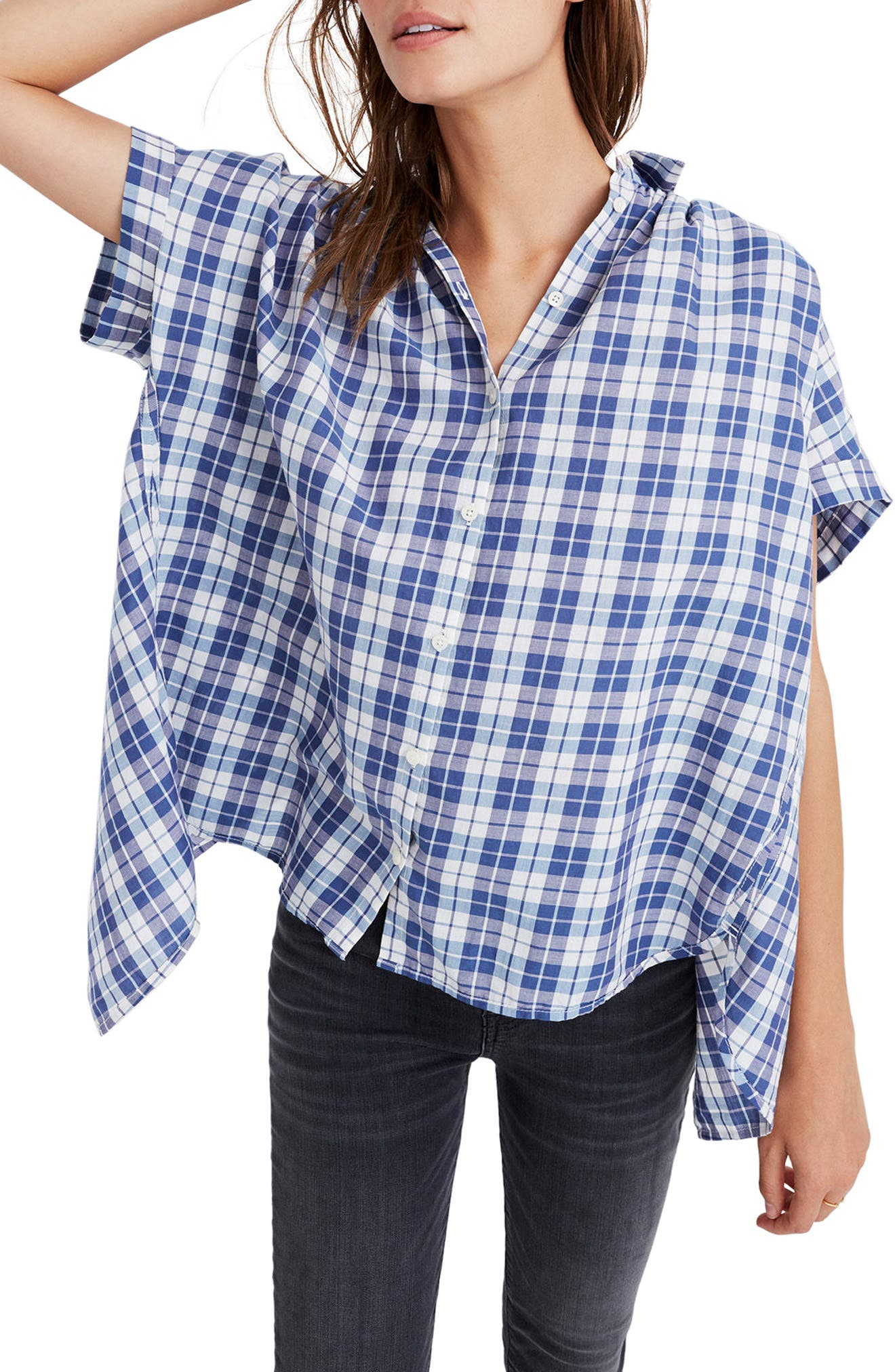 Main Image - Madewell Central Open Back Shirt