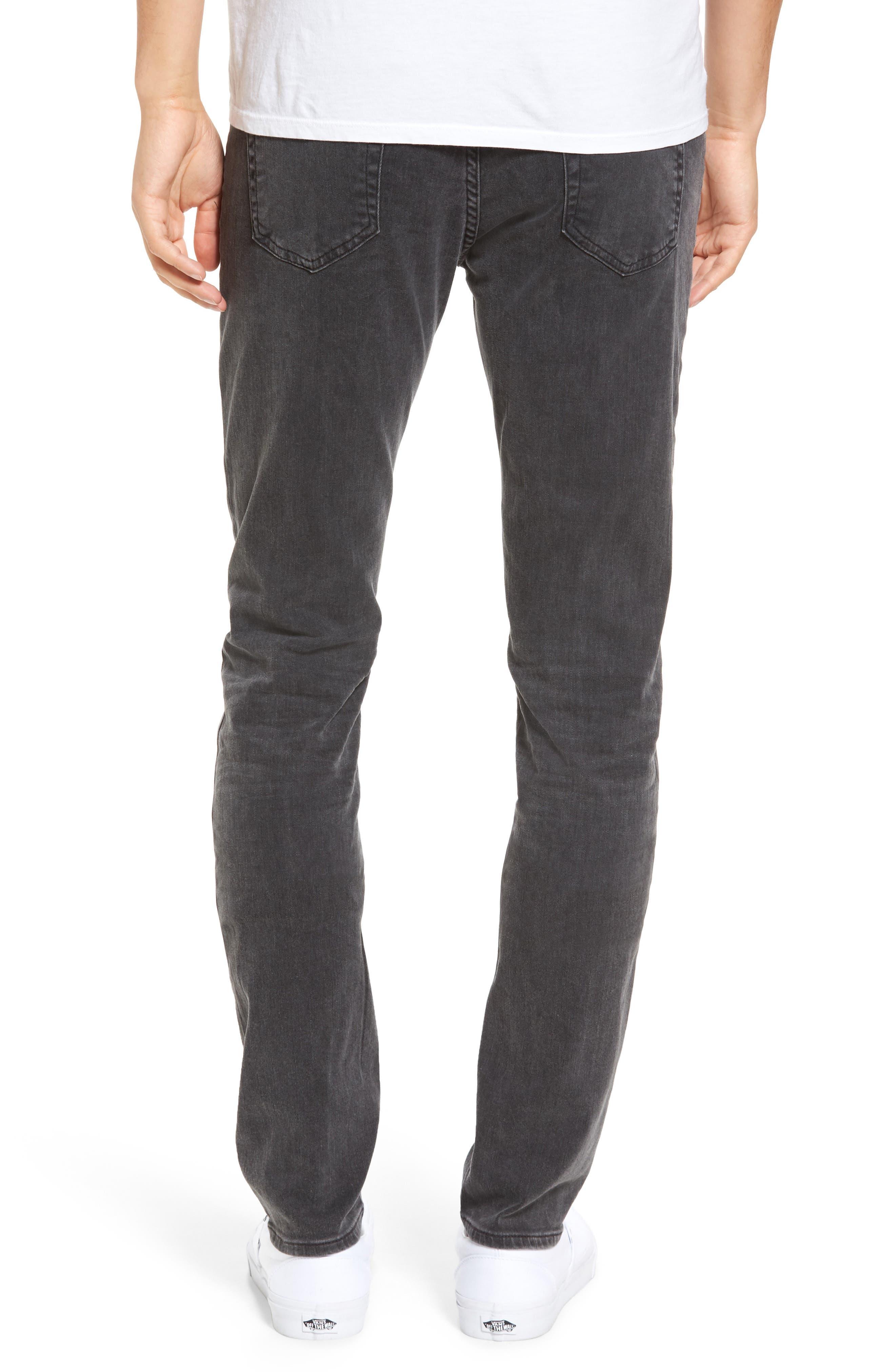 Alternate Image 2  - AG Stockton Skinny Fit Jeans (10 Years Black Dunes)