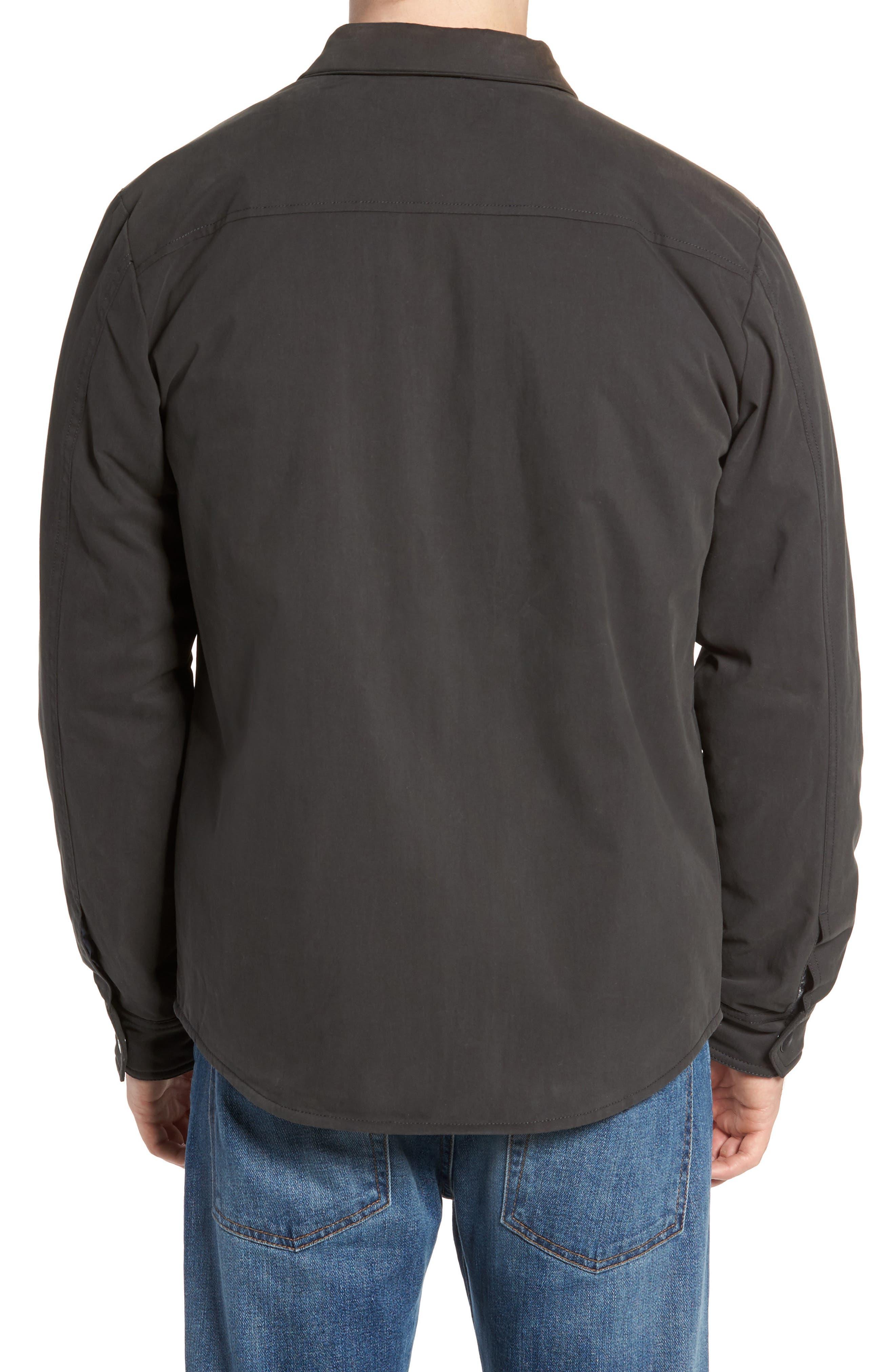 Officer's Shirt Jacket,                             Alternate thumbnail 2, color,                             Pirate Black
