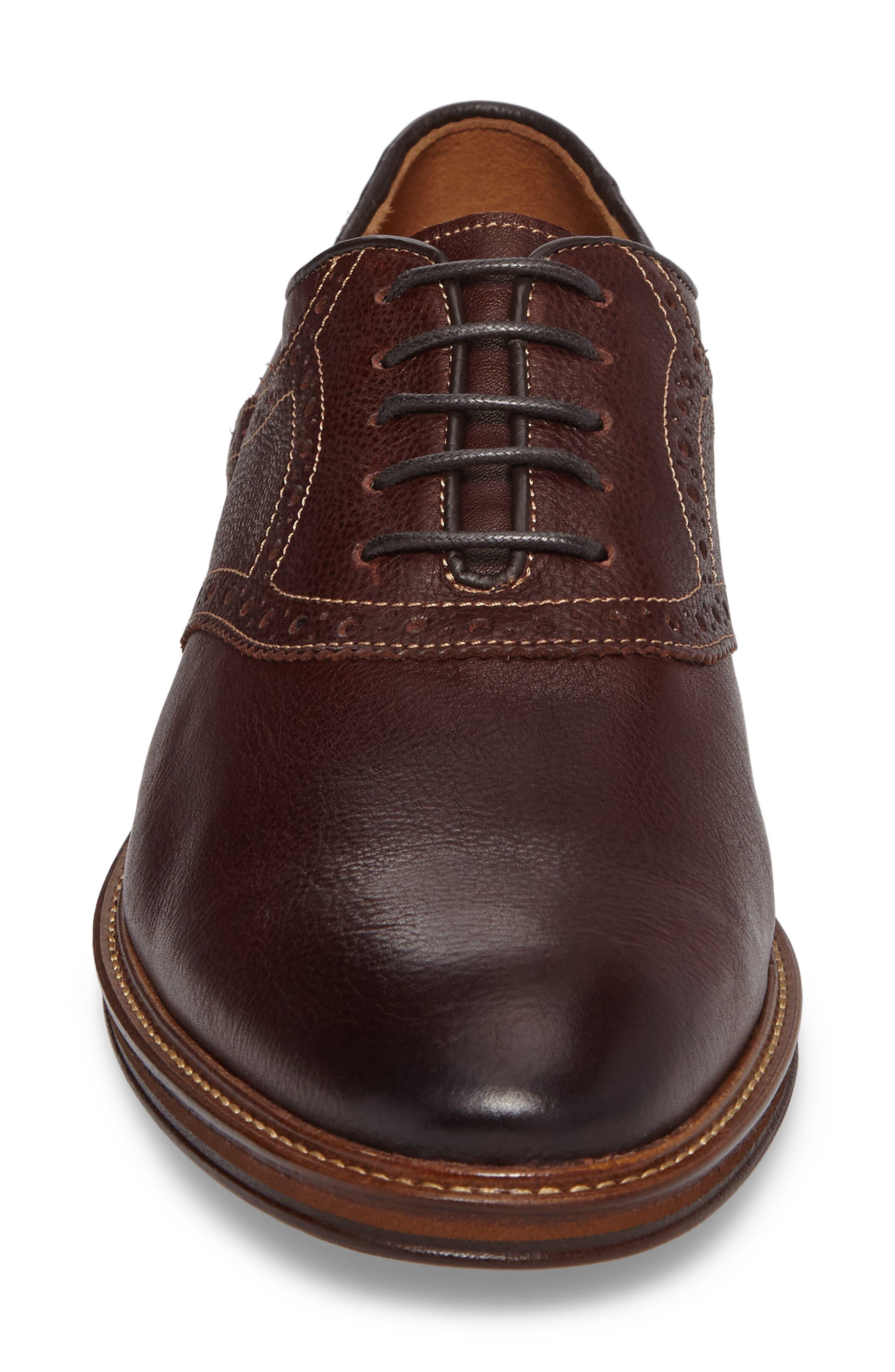 Alternate Image 4  - Johnston & Murphy Warner Saddle Shoe (Men)