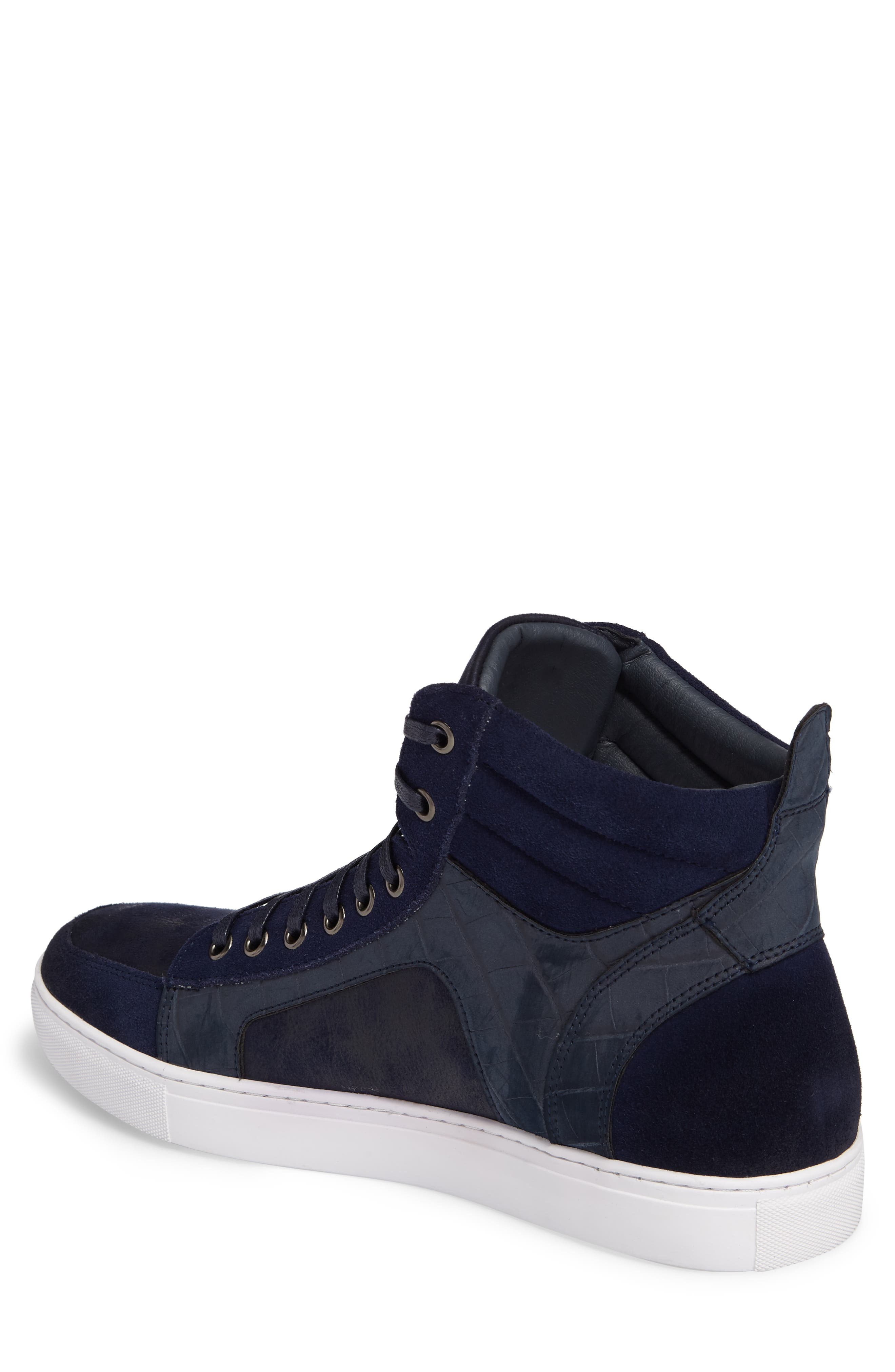 Makin Sneaker,                             Alternate thumbnail 2, color,                             Navy Suede