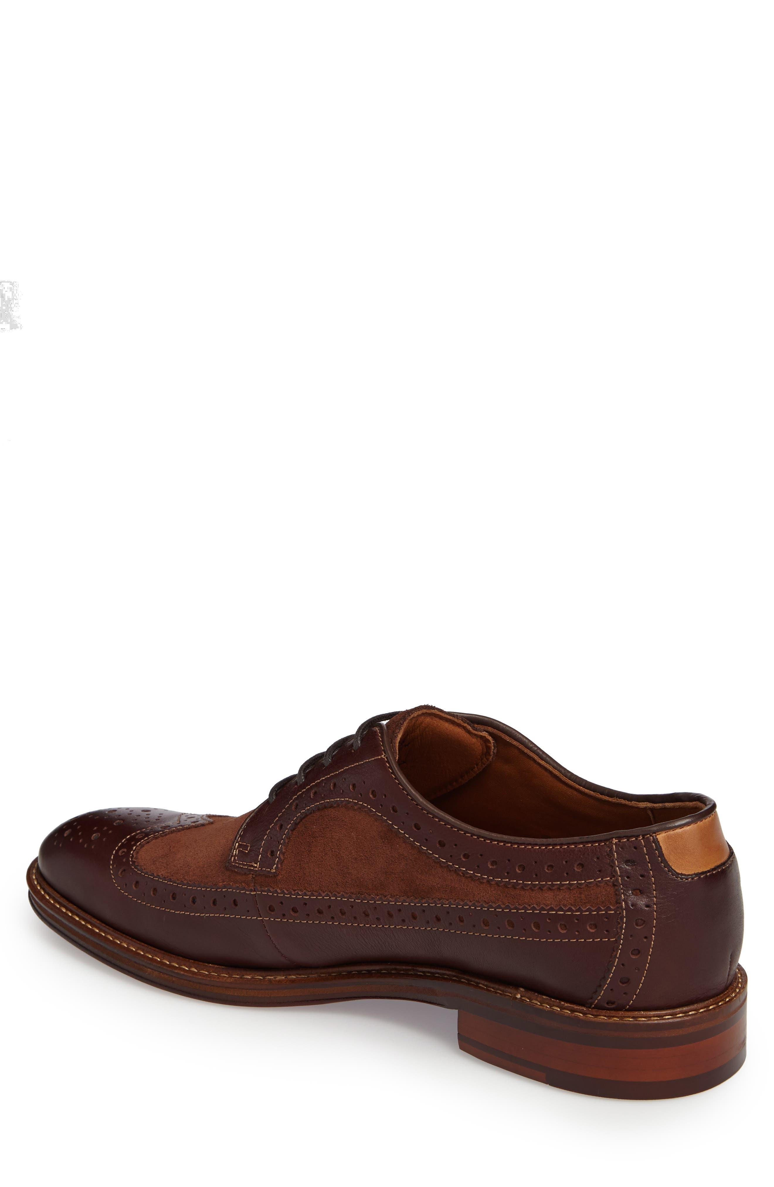 Alternate Image 2  - Johnston & Murphy Warner Spectator Shoe (Men)