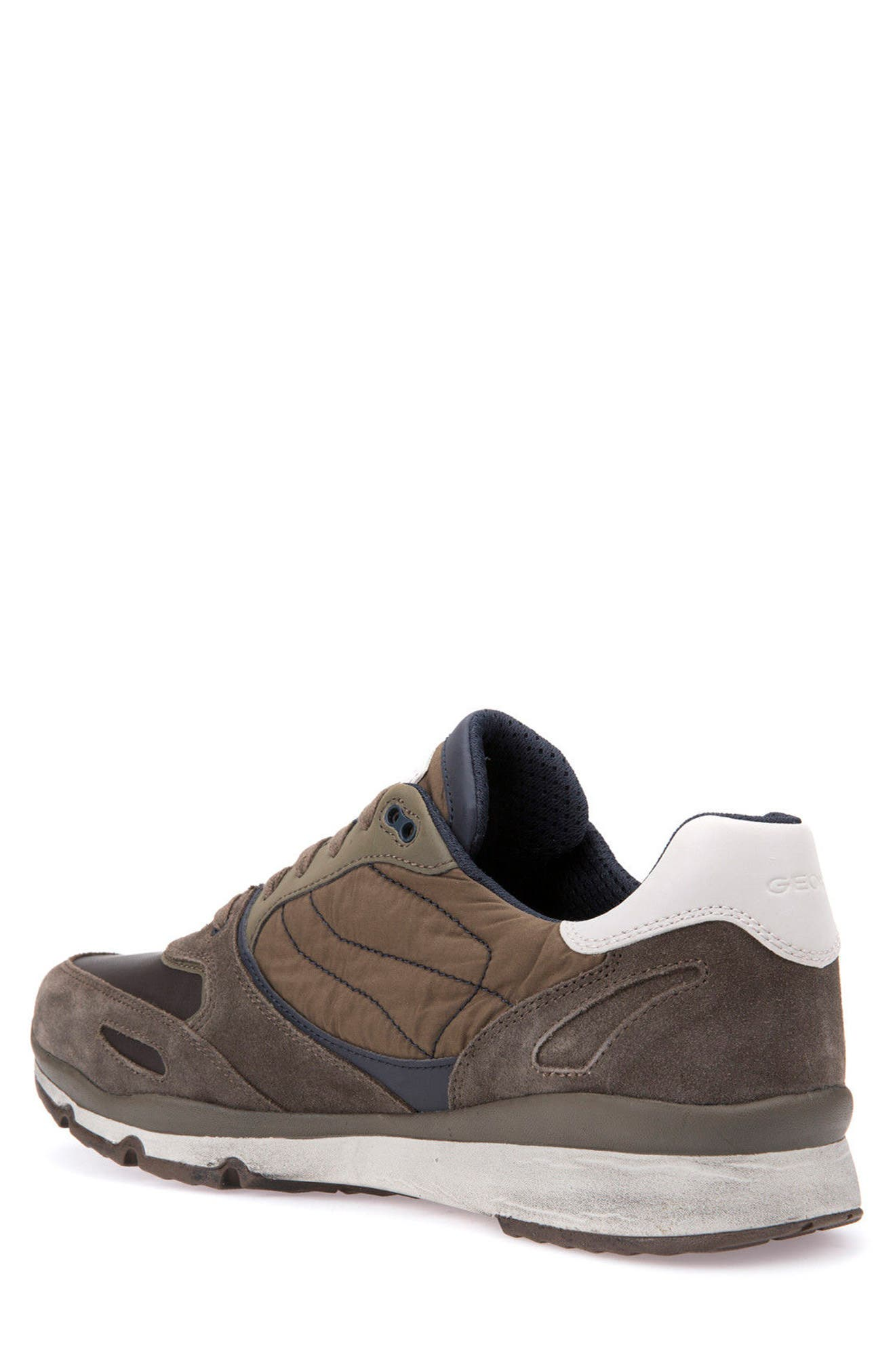 Sandro ABX Ambphibiox Waterproof Sneaker,                             Alternate thumbnail 2, color,                             Taupe