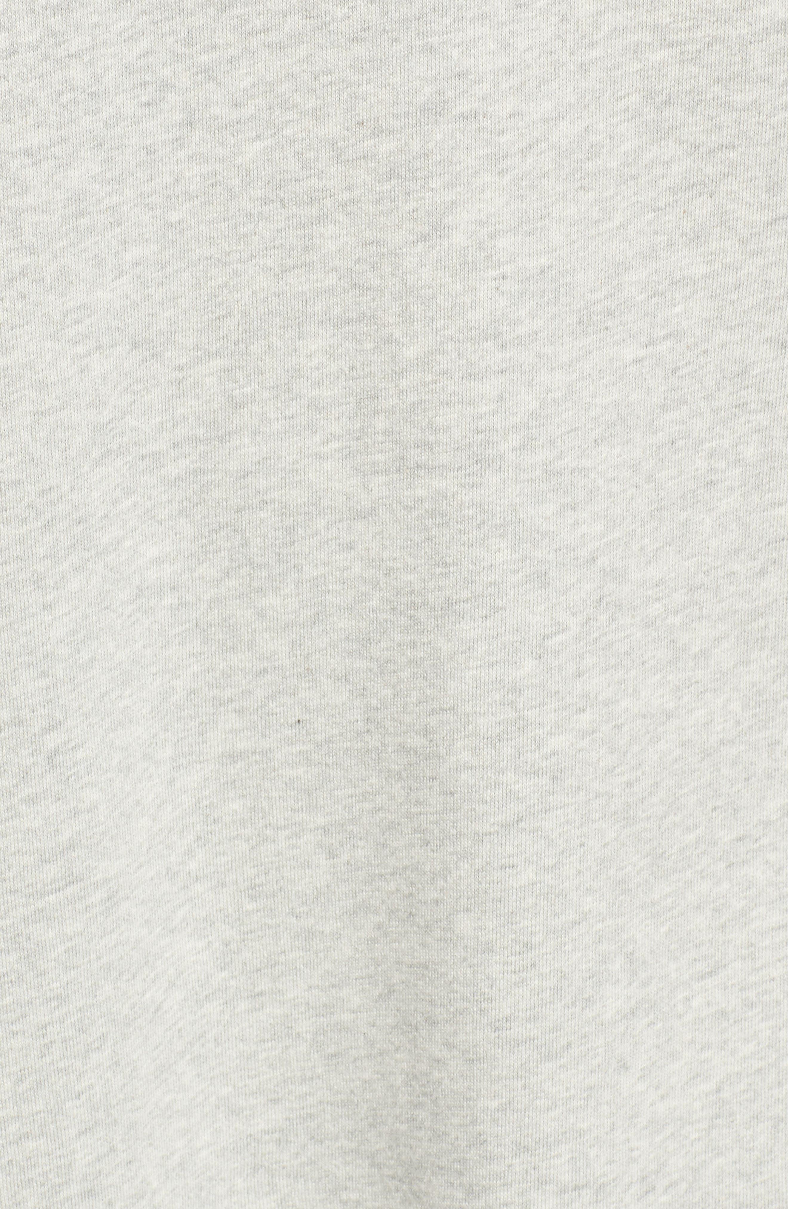 Alternate Image 5  - BP. Embellished Cold Shoulder Sweatshirt Dress