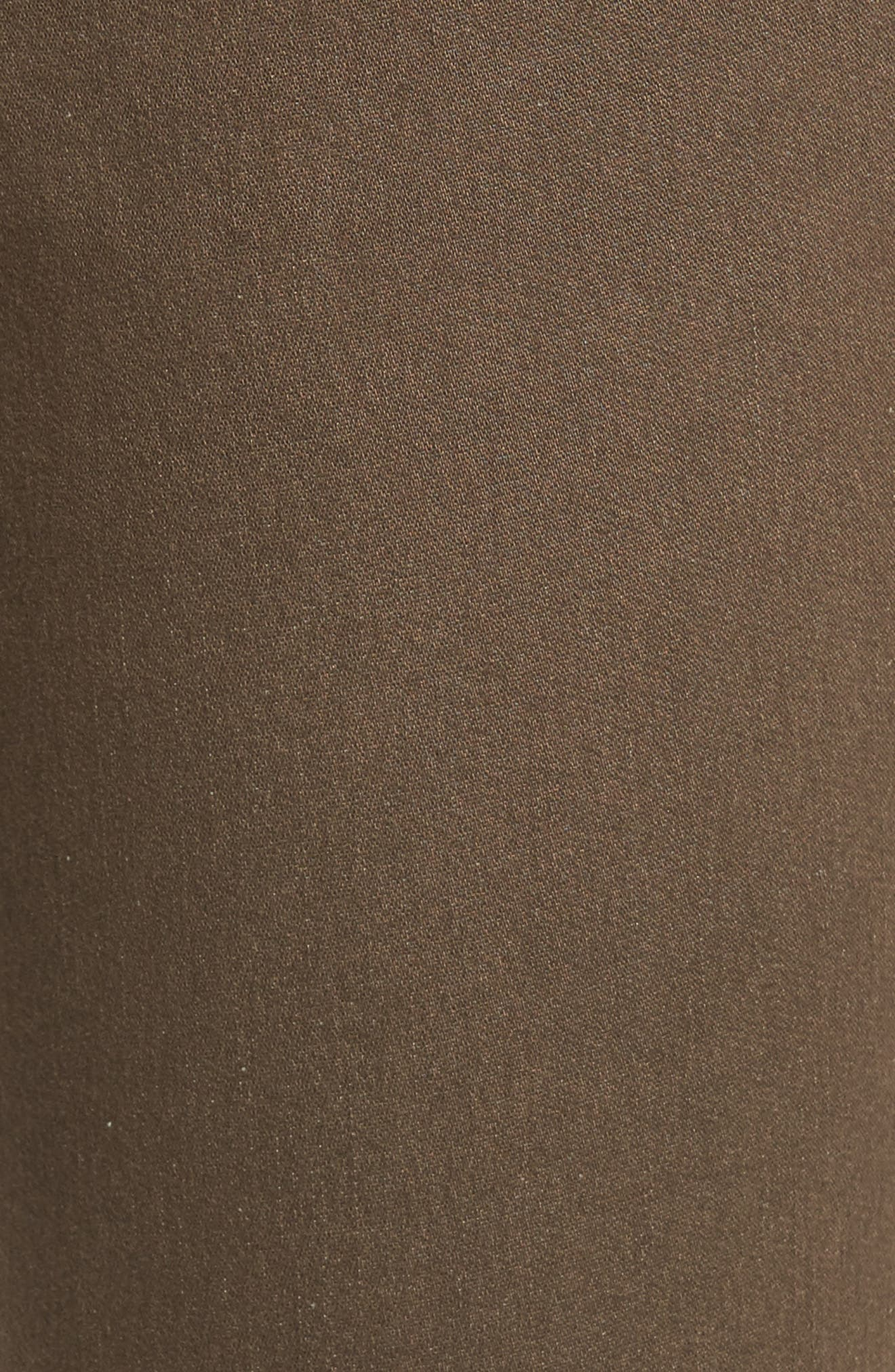 Ryan Knit Skinny Jeans,                             Alternate thumbnail 5, color,                             Saddle