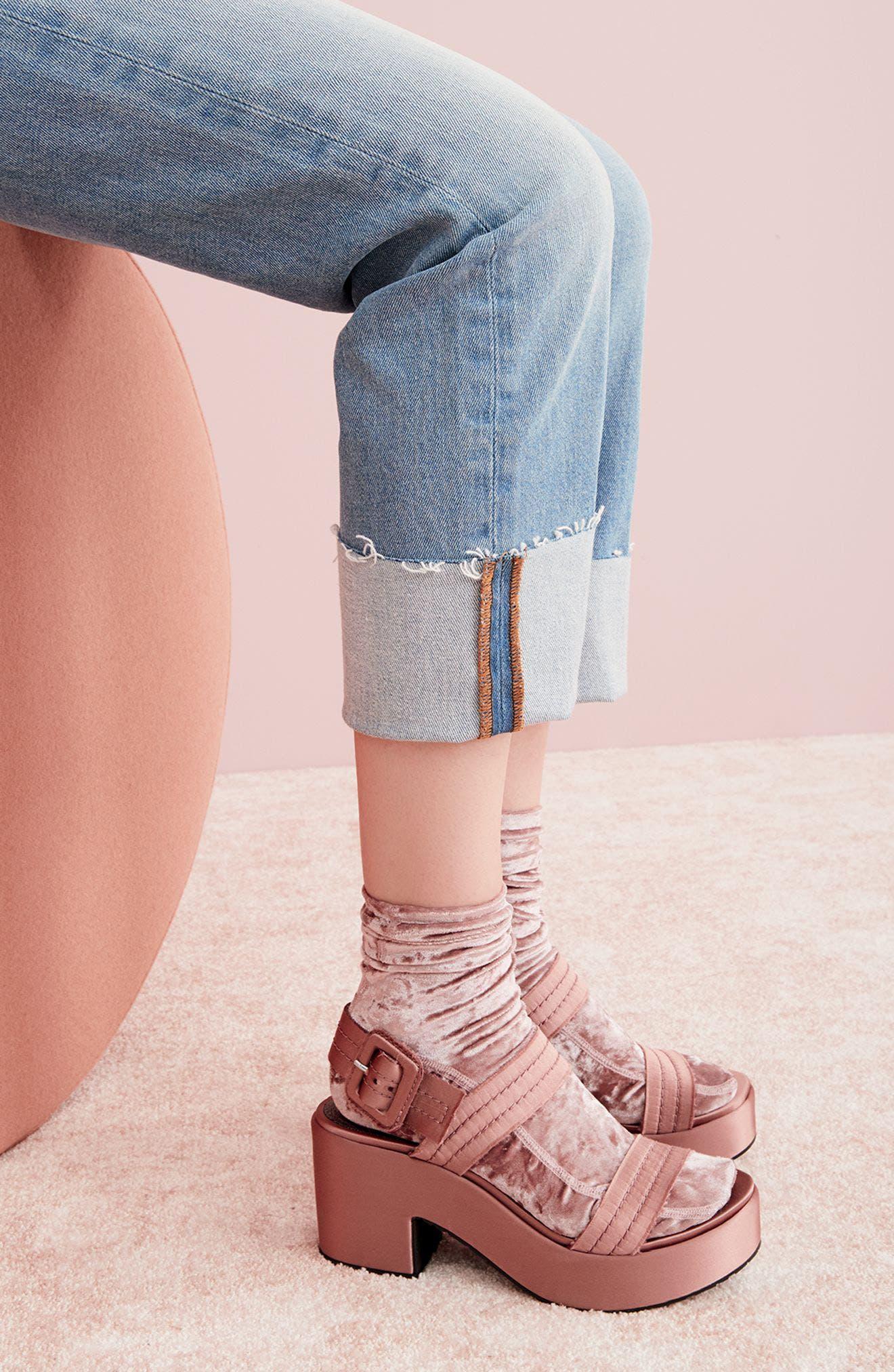 Decima Platform Sandal,                             Alternate thumbnail 7, color,
