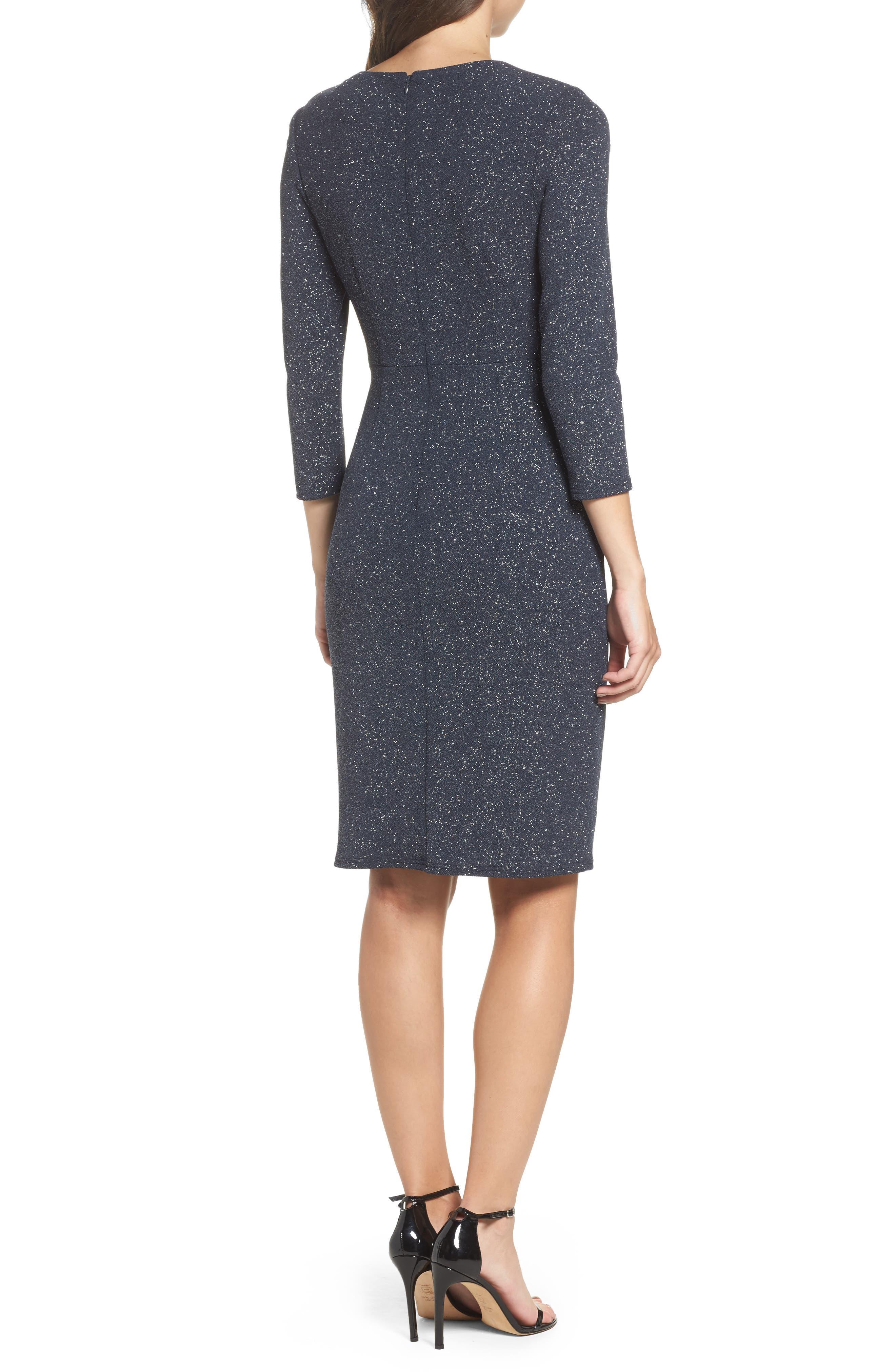 Alternate Image 2  - Eliza J Gathered Sheath Dress