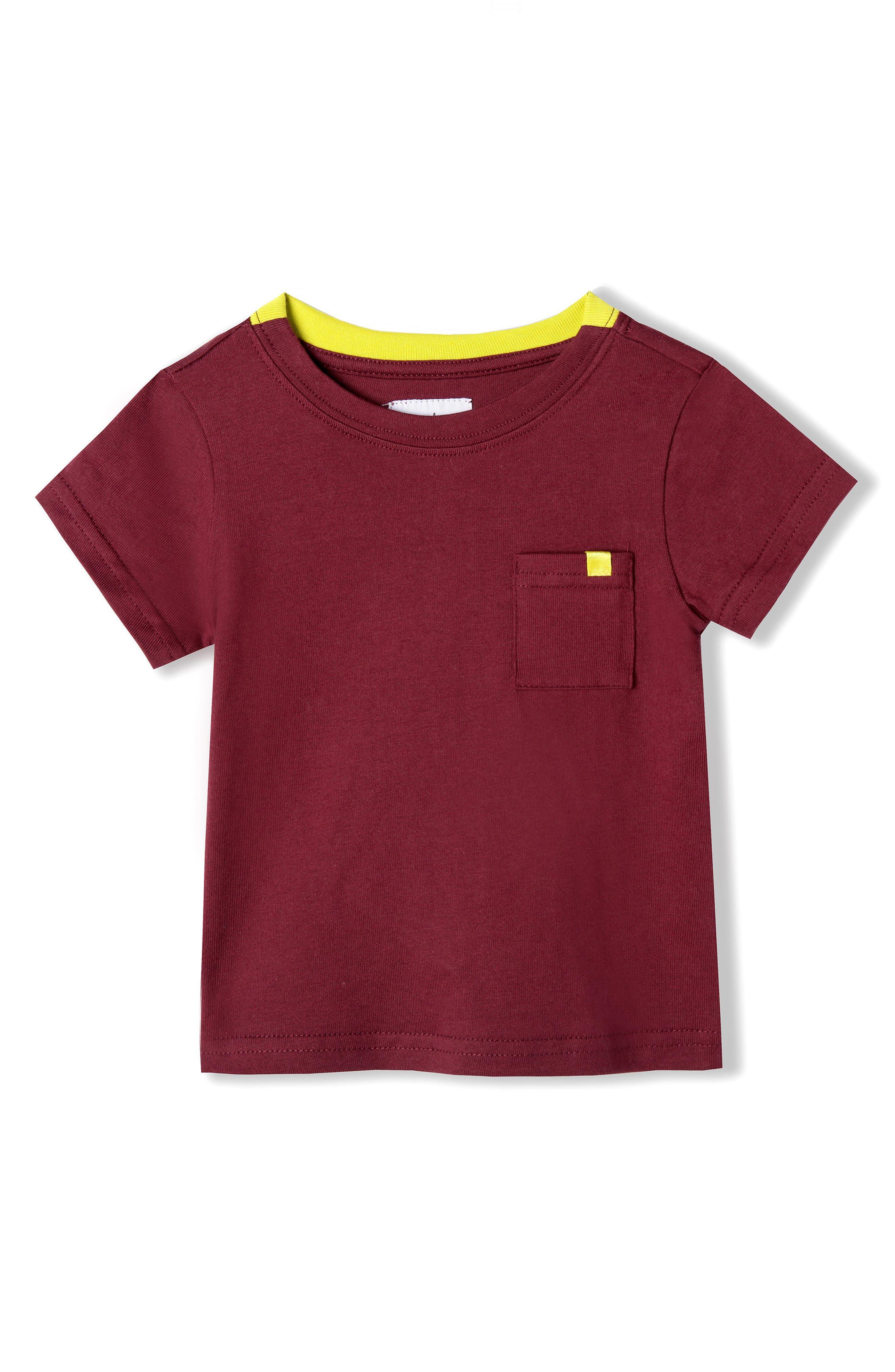 Alternate Image 1 Selected - Art & Eden Organic Cotton T-Shirt (Baby Boys)