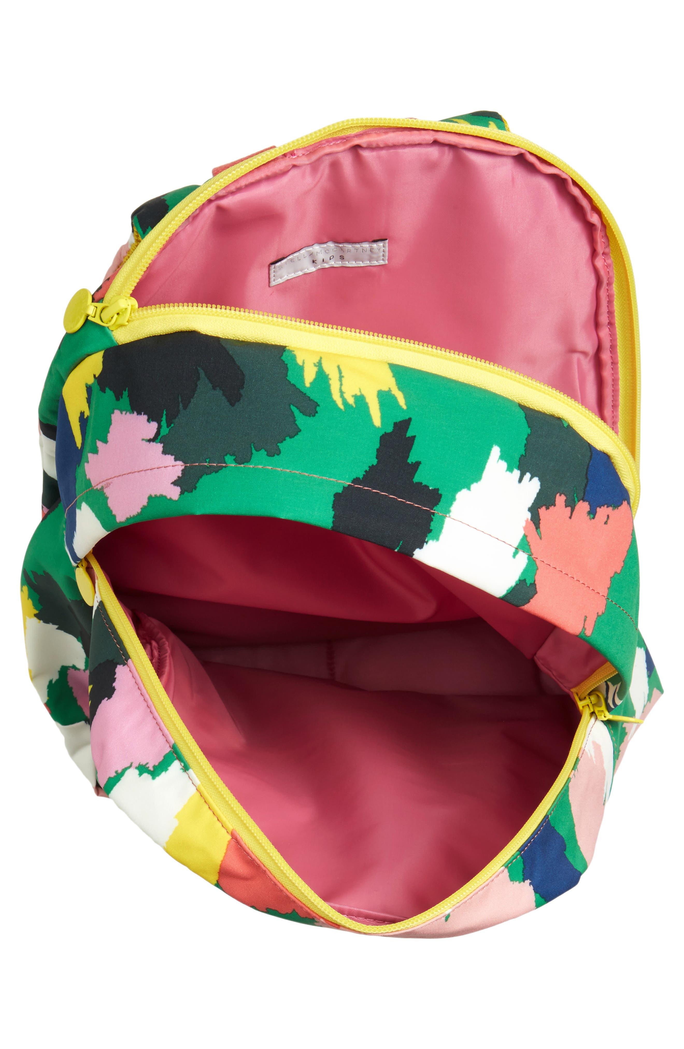 Alternate Image 3  - Stella McCartney Kids Print Backpack (Kids)