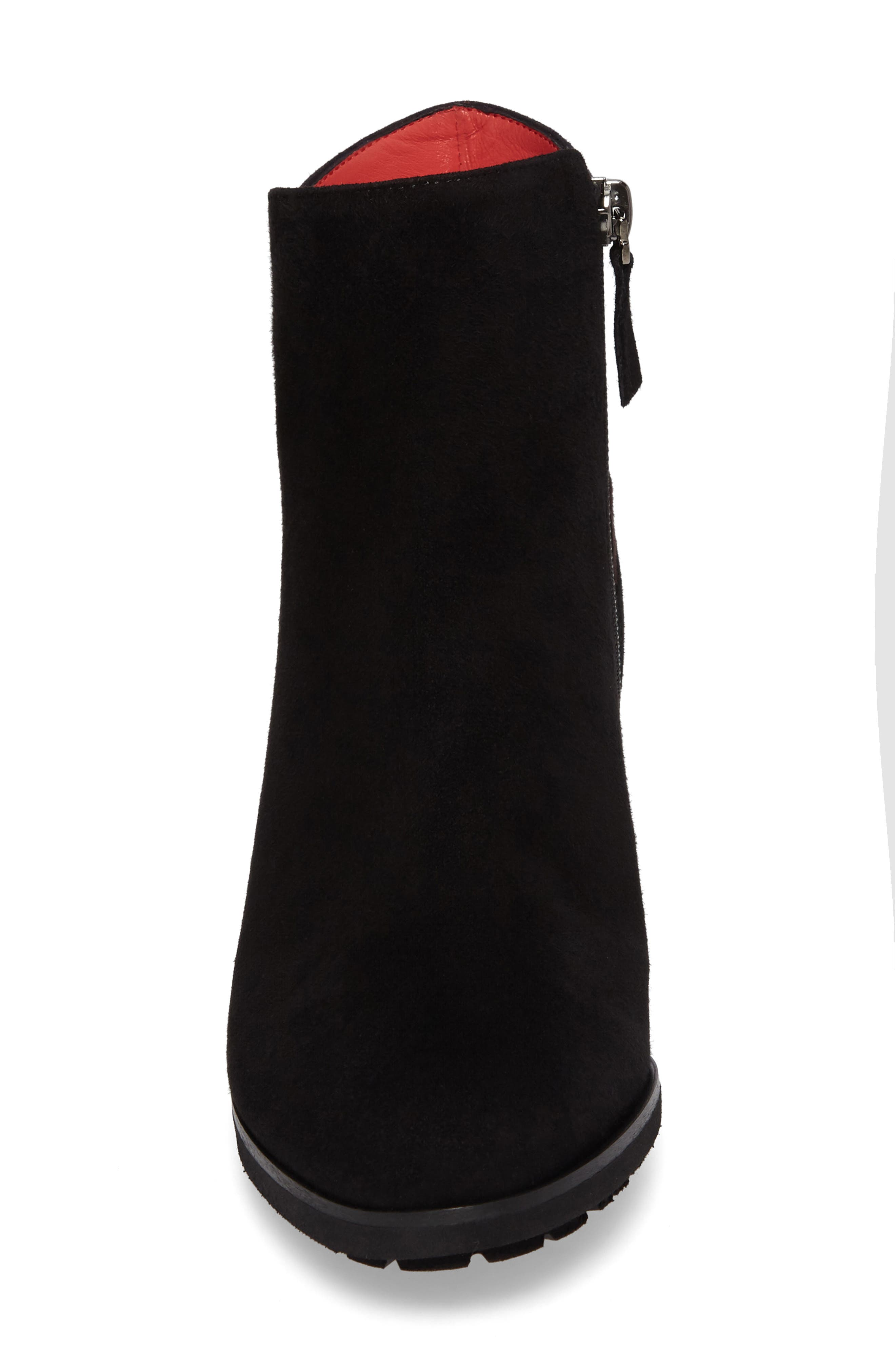 Alternate Image 4  - Pas de Rouge Block Heel Bootie (Women)