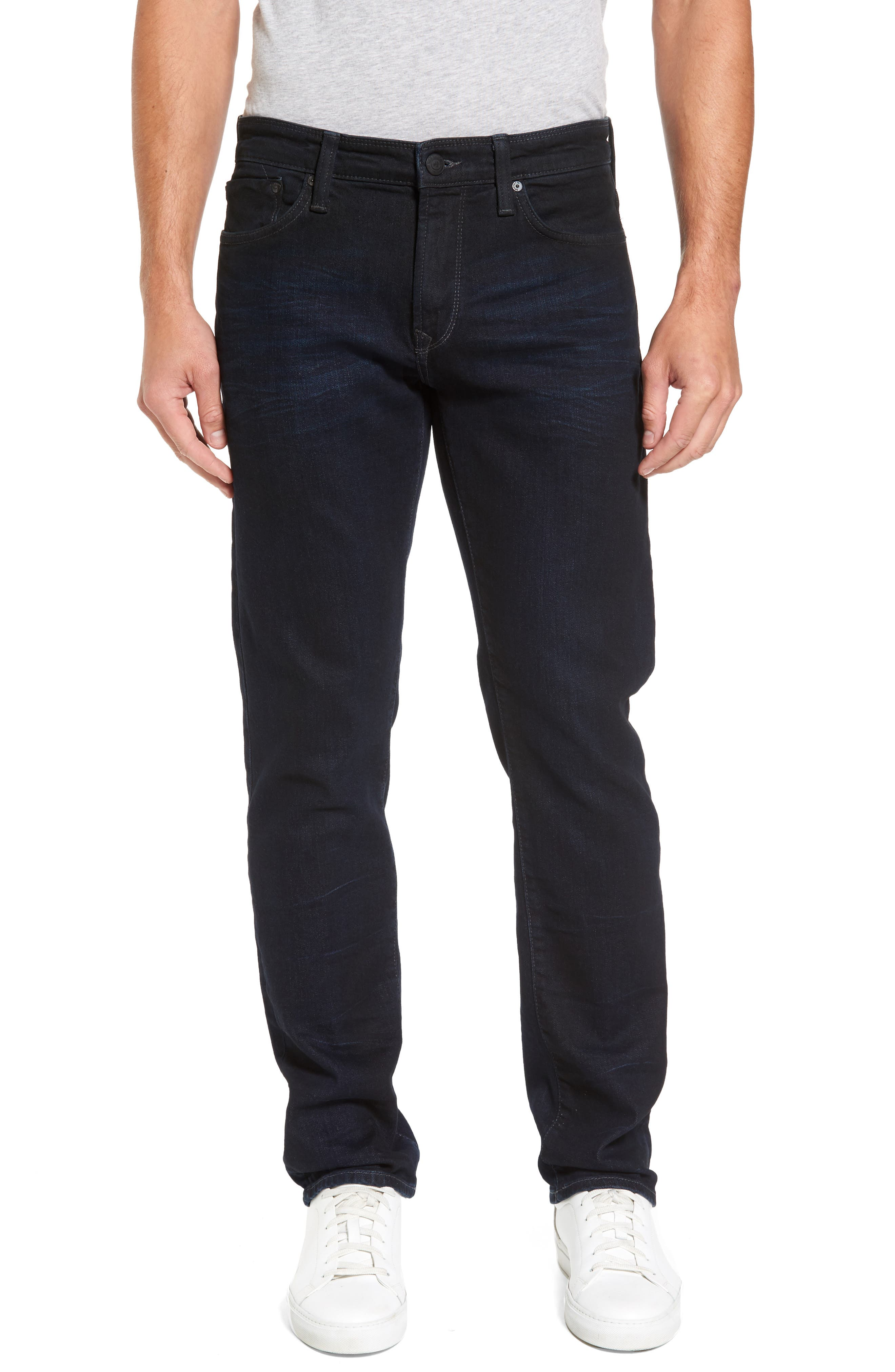 Mavi Jeans Zach Straight Leg Jeans (Coated Authentic Vintage)