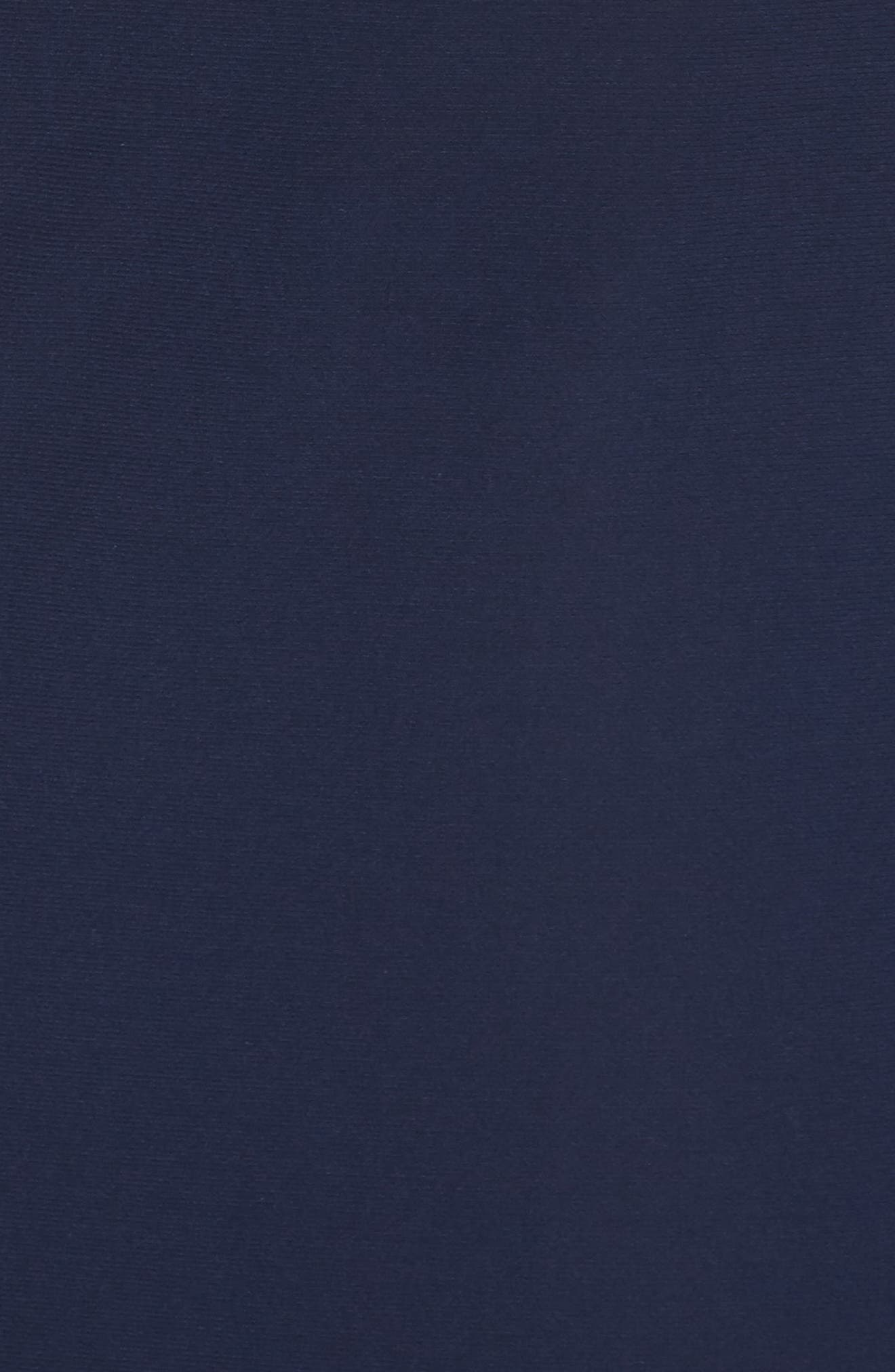Alternate Image 5  - Xscape Beaded Ruffle Back Jersey Trumpet Gown (Regular & Petite)