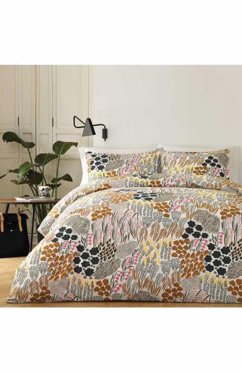 com marimekko duvet at king black cover homecolours covers unikko bedding