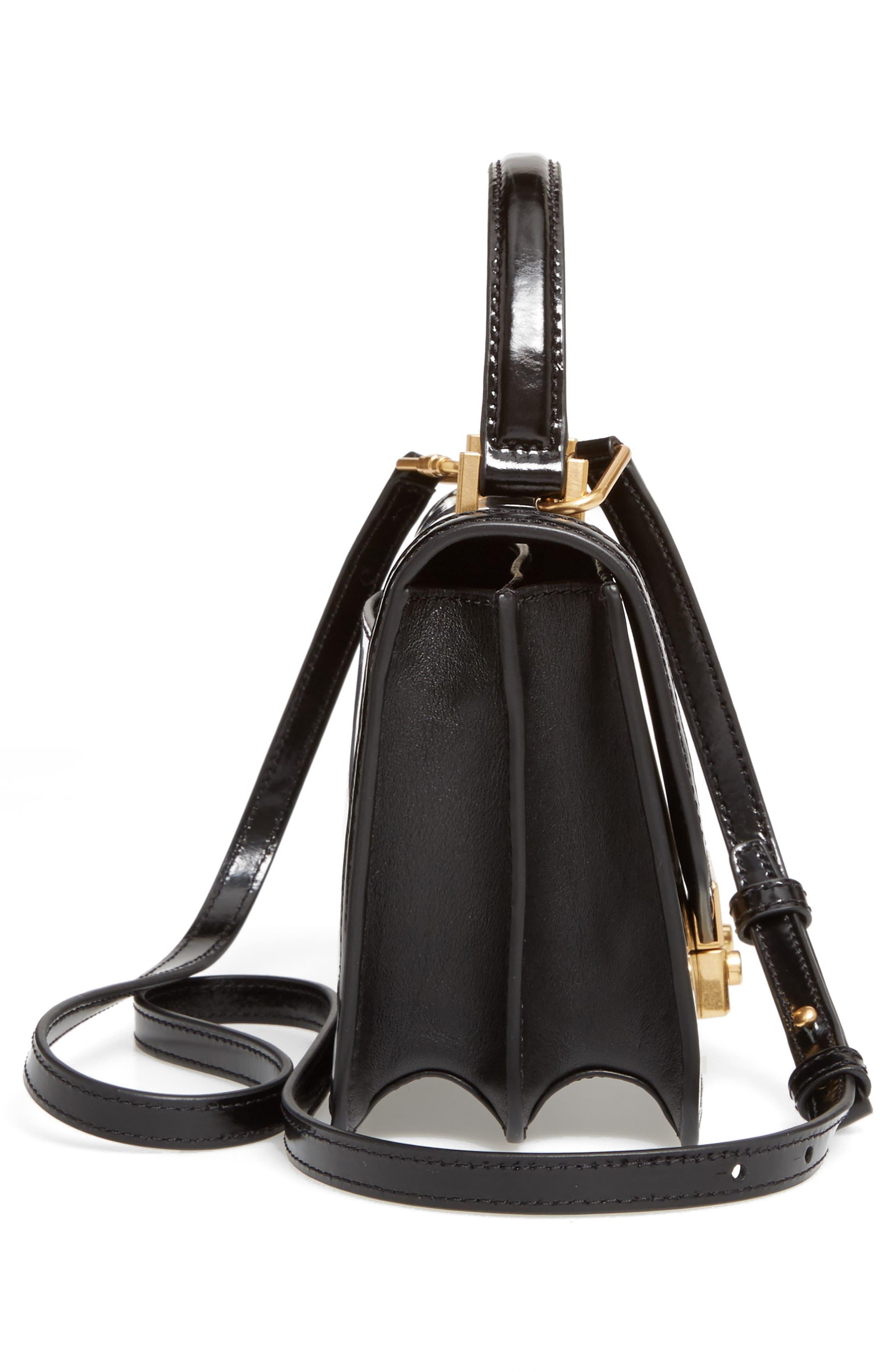 Alternate Image 4  - Tory Burch Mini Juliette Leather Top Handle Satchel