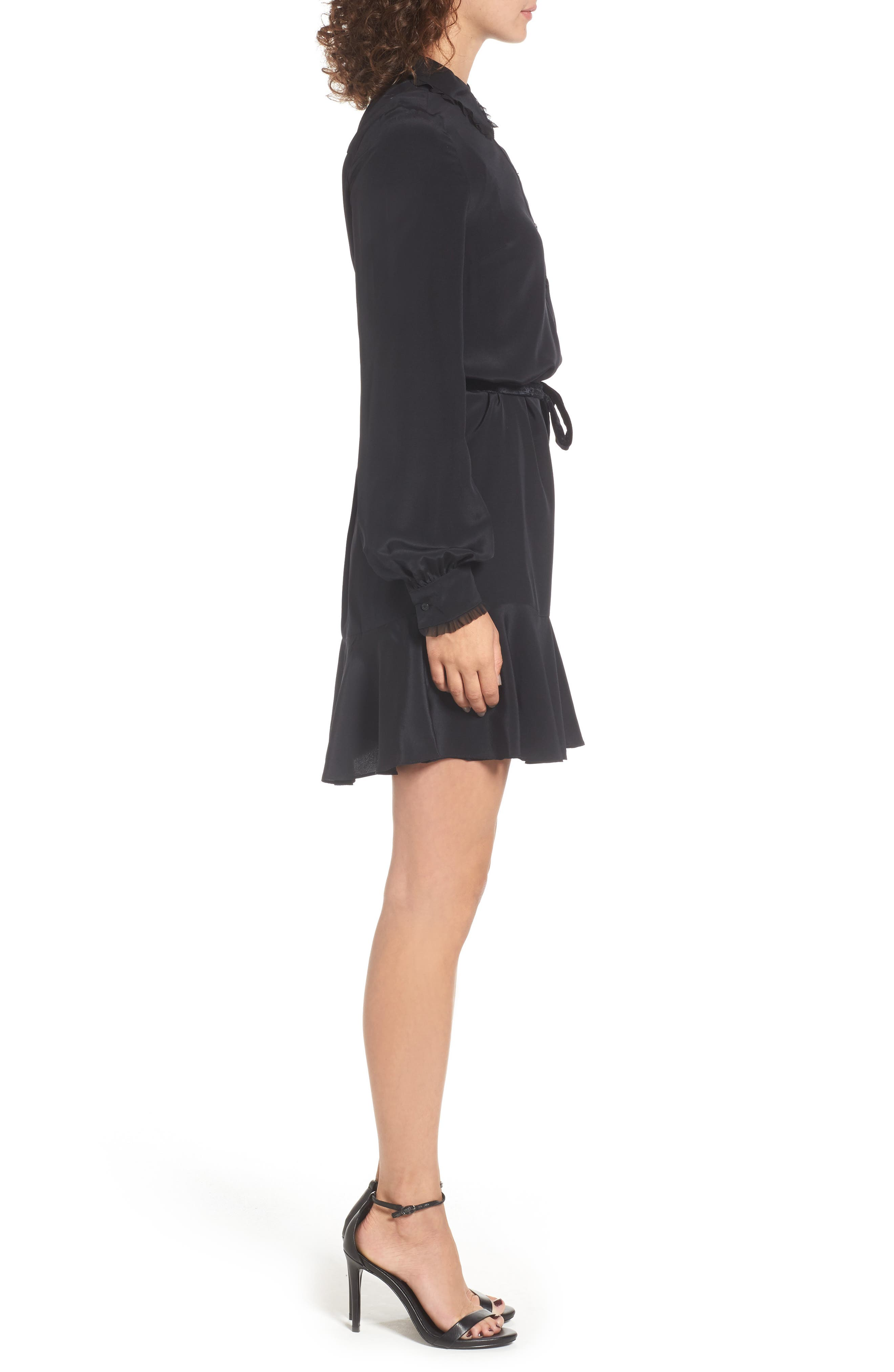 Alternate Image 3  - Juicy Couture Silk Shirtdress