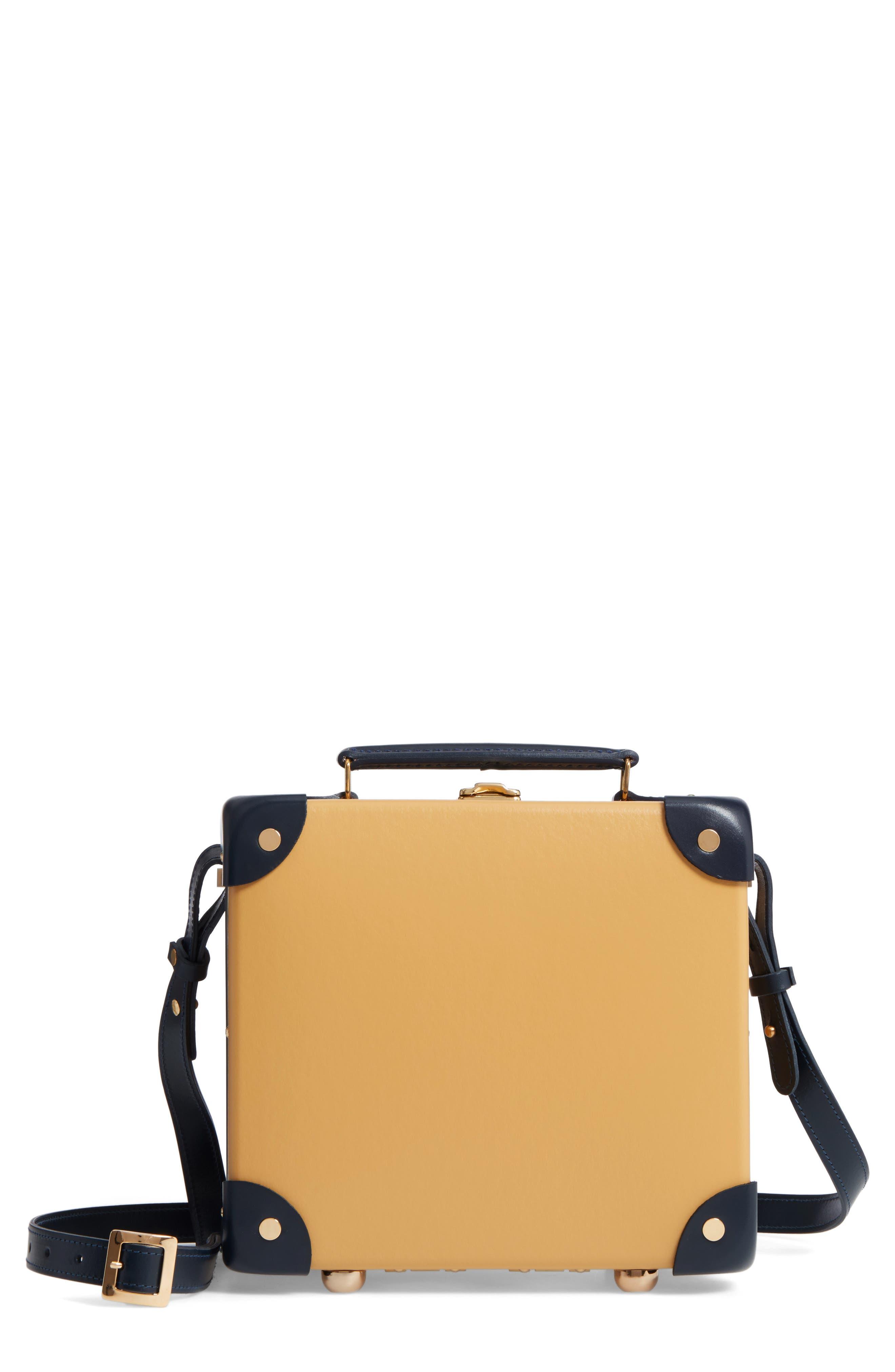Mini Safari 9-Inch Utility Hardshell Travel Case,                             Main thumbnail 1, color,                             Mustard