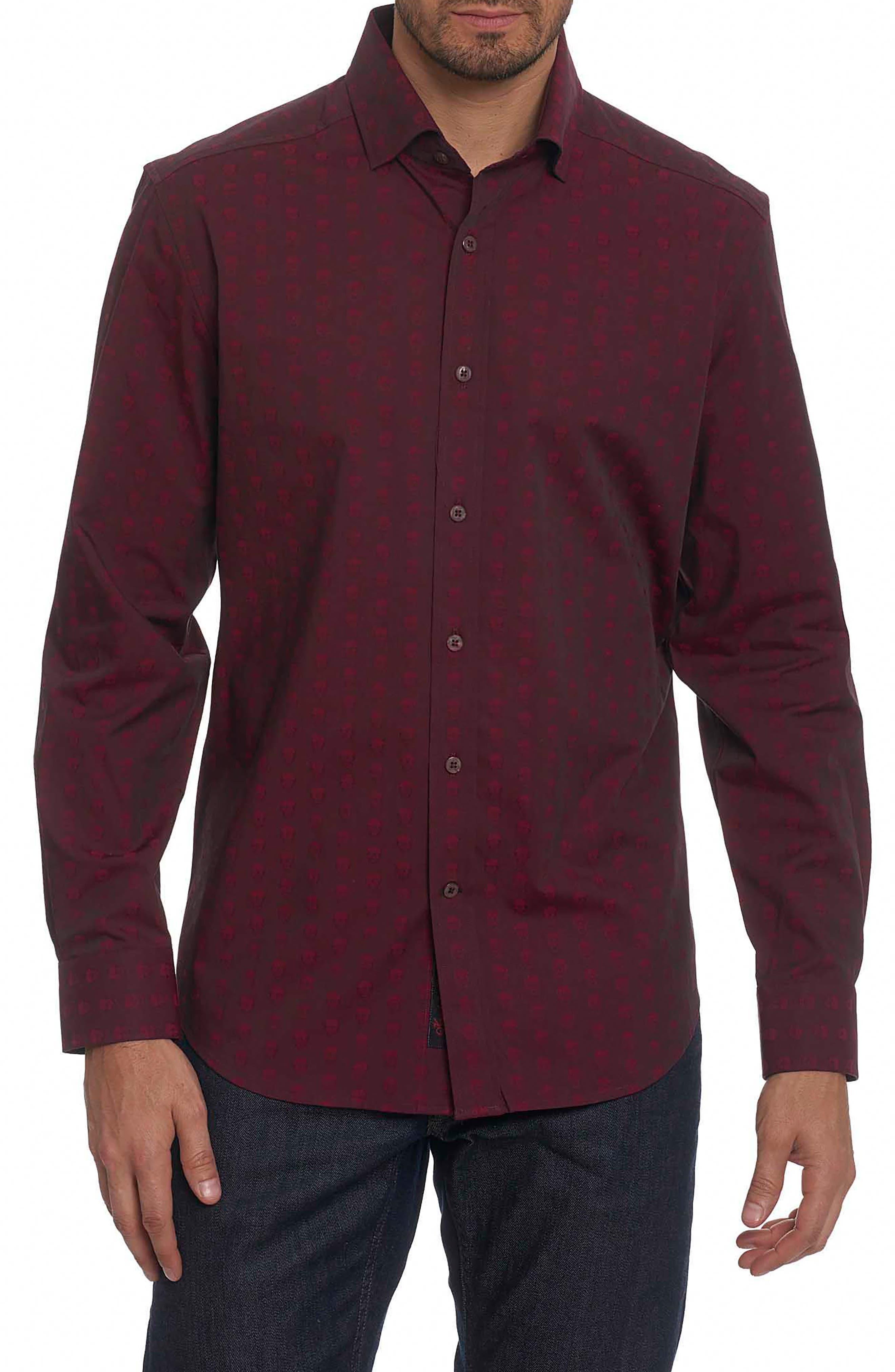 Main Image - Robert Graham Deven Tailored Fit Sport Shirt