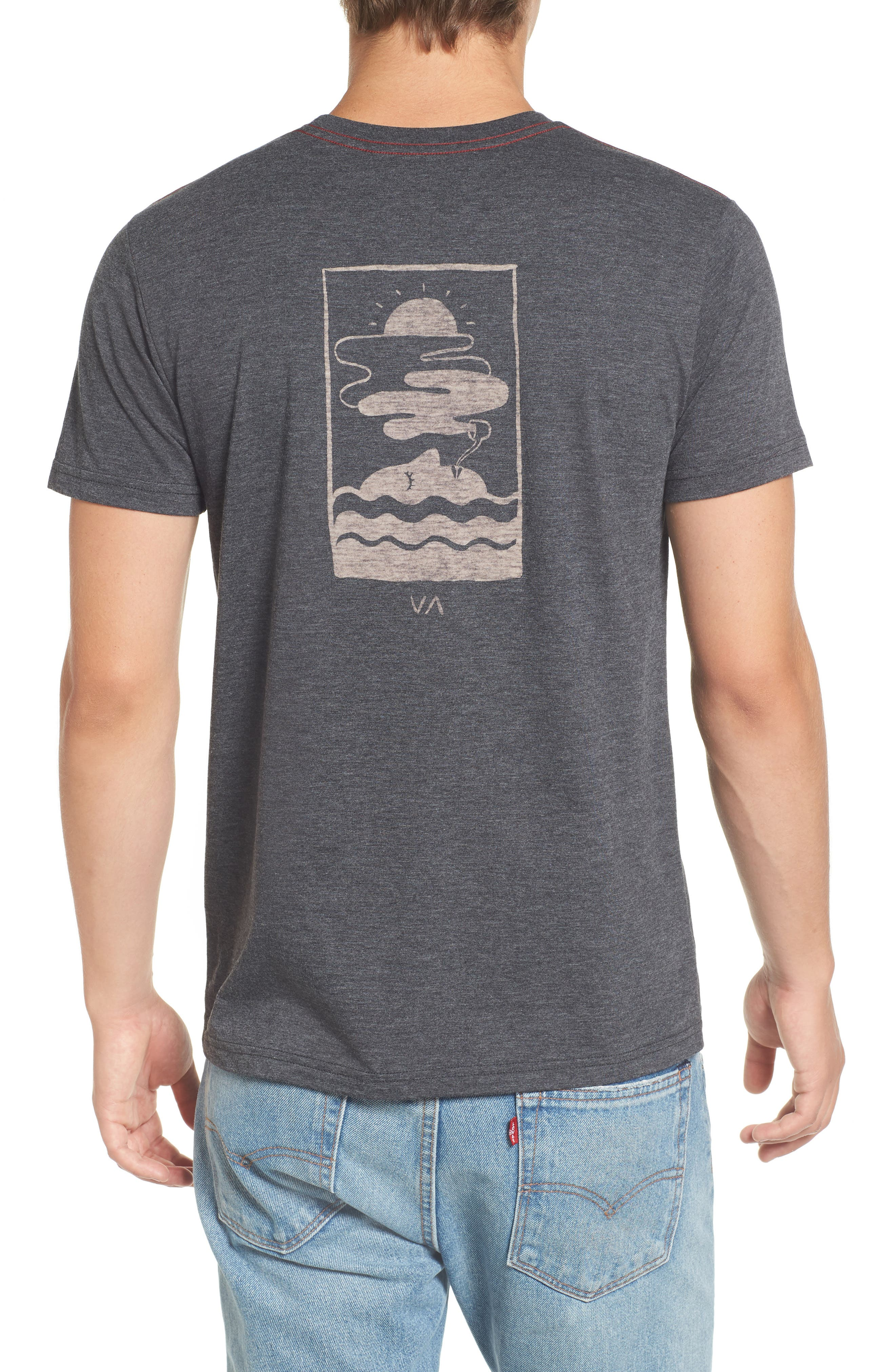 Alternate Image 2  - RVCA Snooze Cloud Graphic T-Shirt